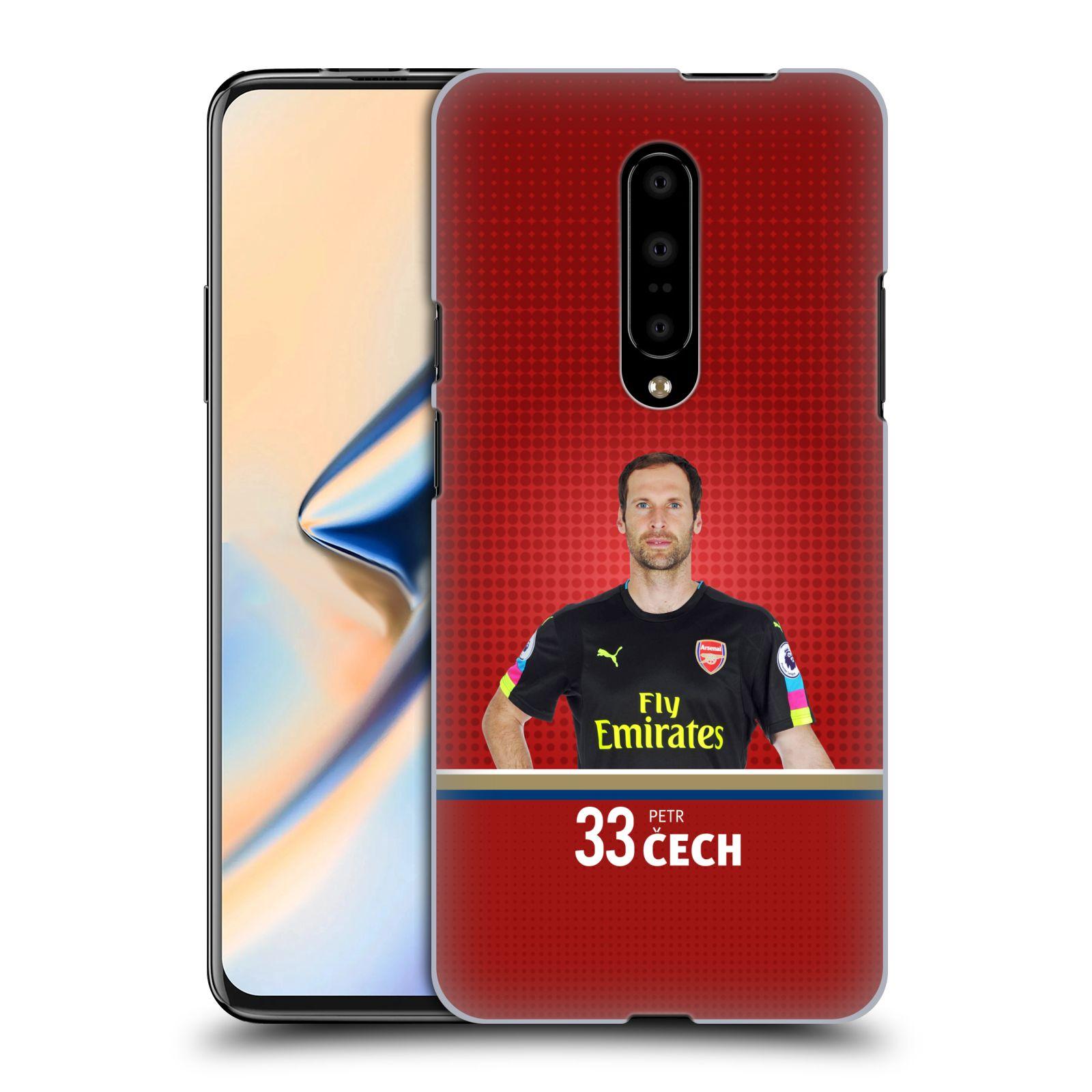 Plastové pouzdro na mobil OnePlus 7 - Head Case - Arsenal FC - Petr Čech