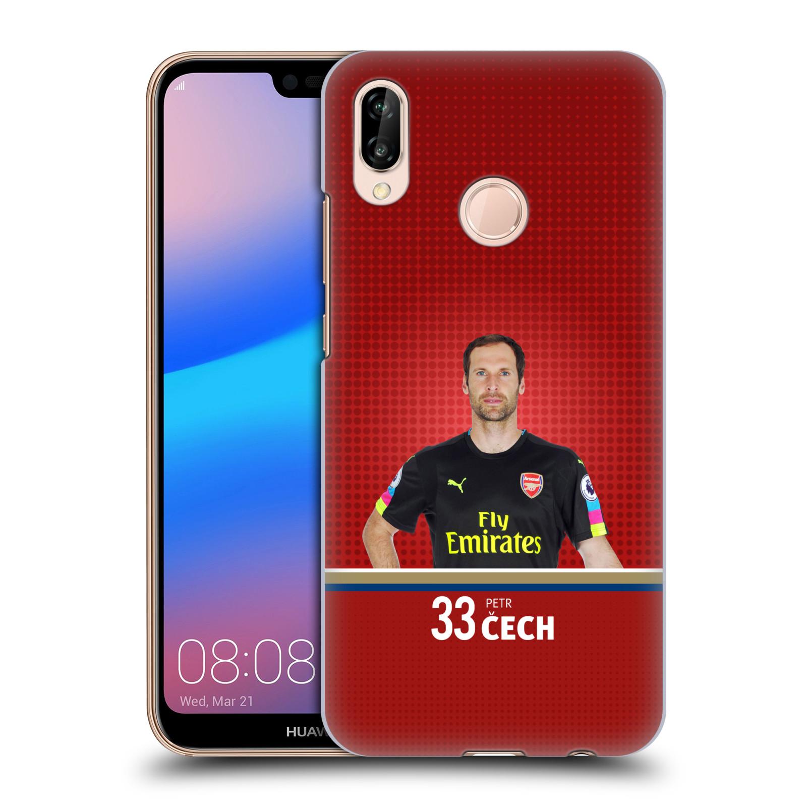 Plastové pouzdro na mobil Huawei P20 Lite - Head Case - Arsenal FC - Petr Čech