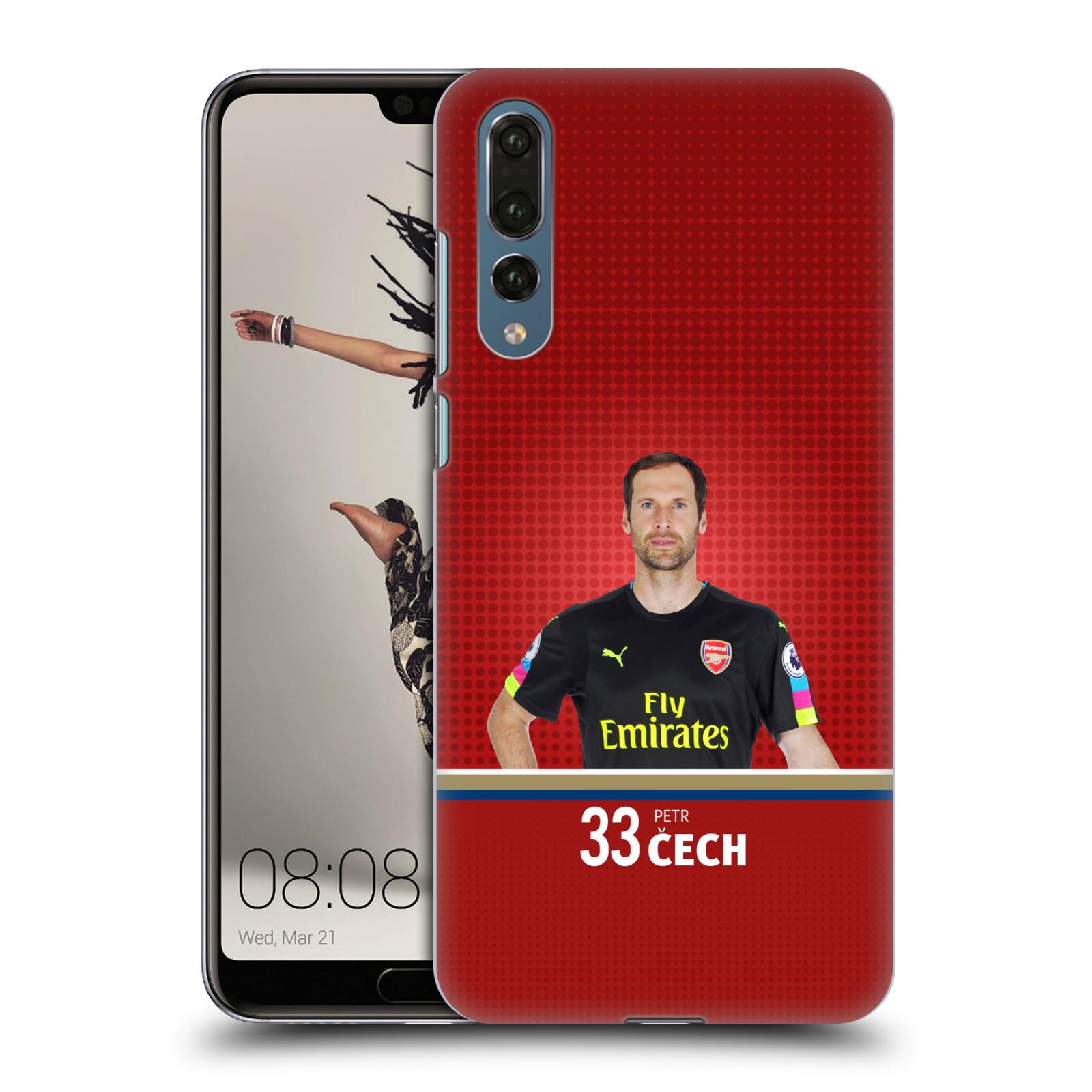 Plastové pouzdro na mobil Huawei P20 Pro - Head Case - Arsenal FC - Petr Čech