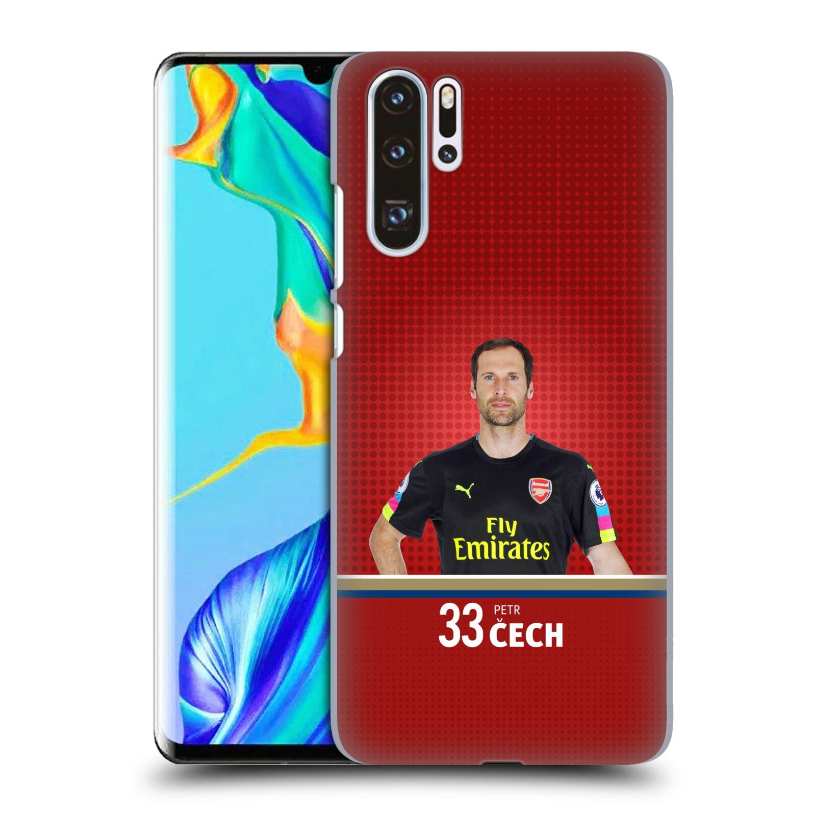 Plastové pouzdro na mobil Huawei P30 Pro - Head Case - Arsenal FC - Petr Čech