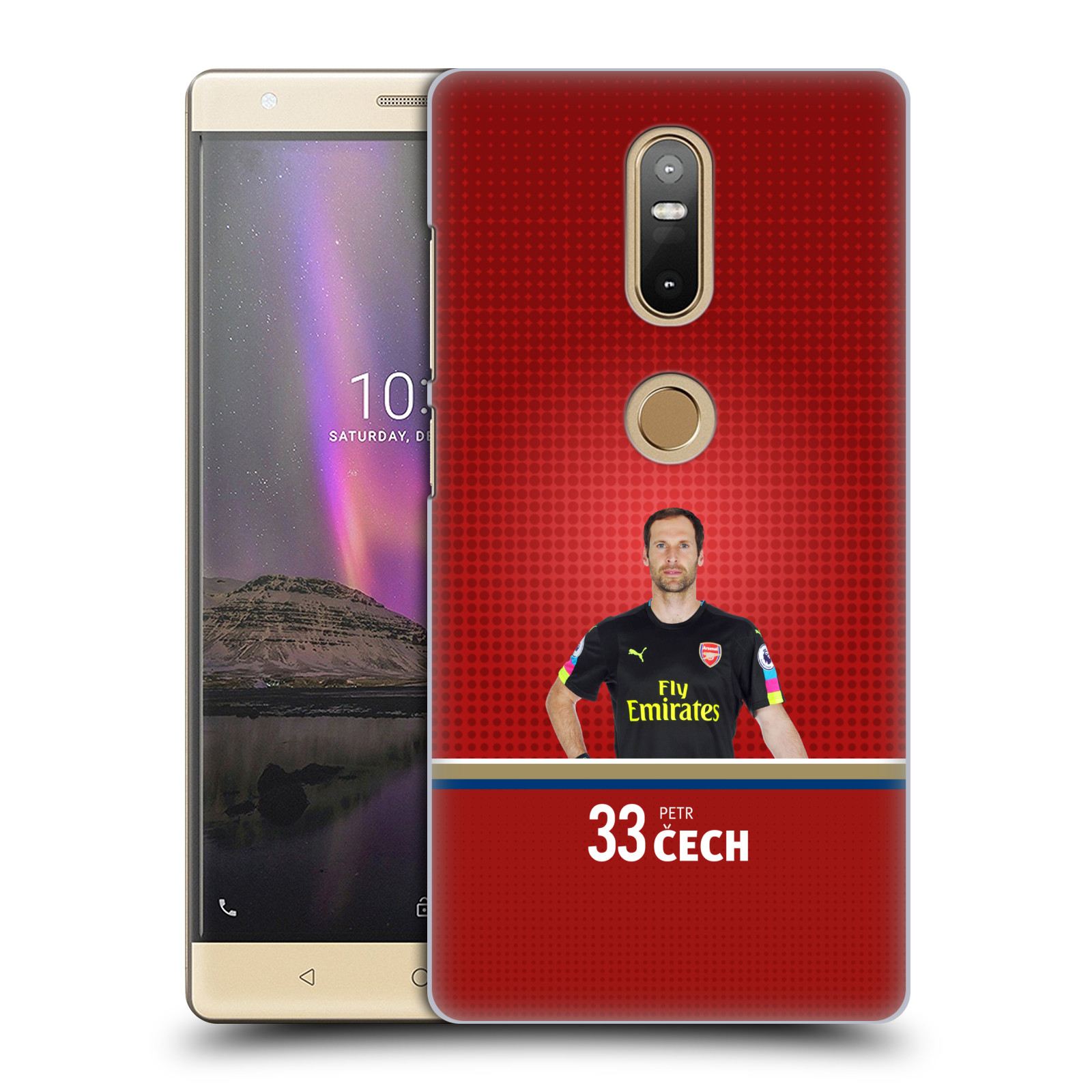 Plastové pouzdro na mobil Lenovo Phab 2 Plus - Head Case - Arsenal FC - Petr Čech