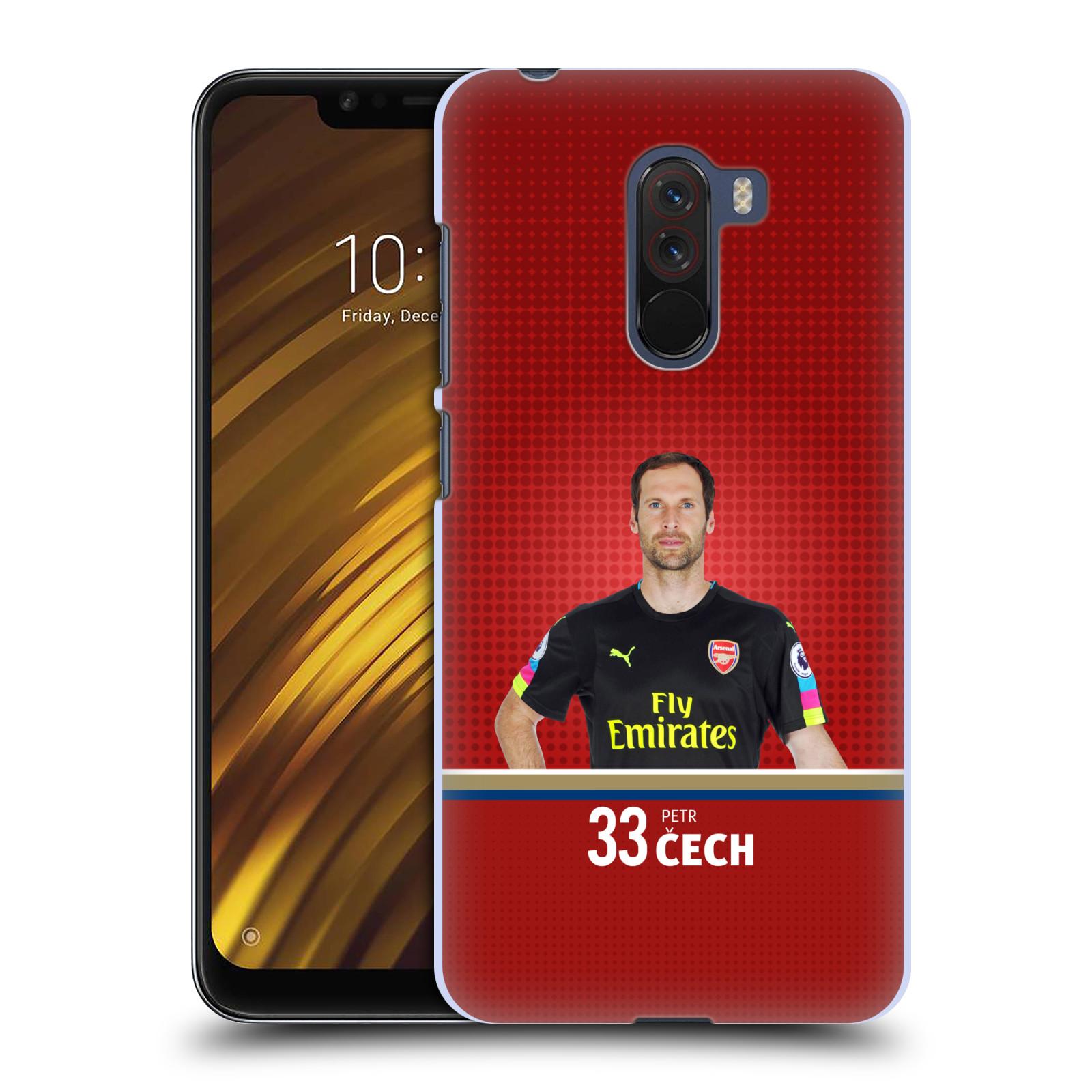 Plastové pouzdro na mobil Xiaomi Pocophone F1 - Head Case - Arsenal FC - Petr Čech
