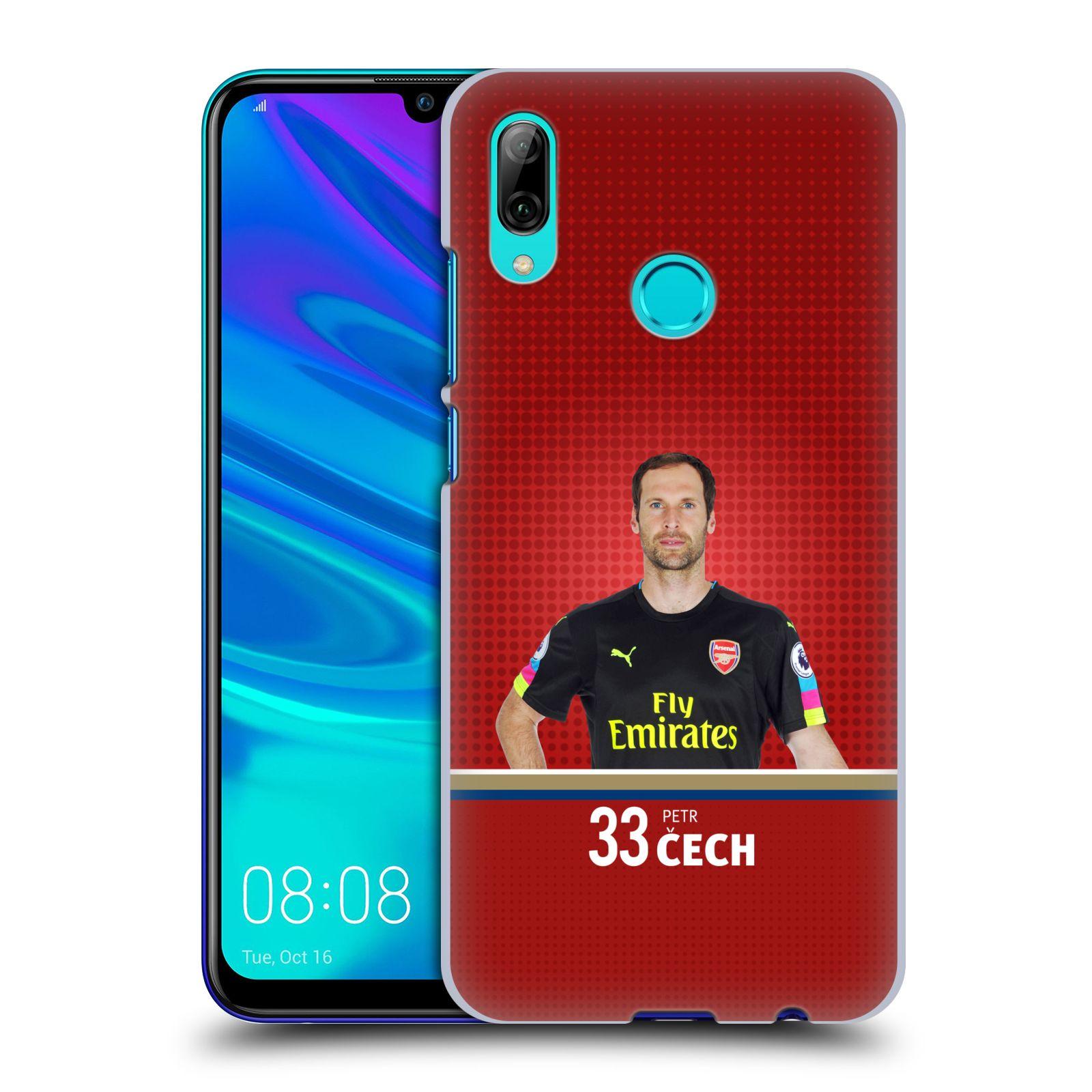 Plastové pouzdro na mobil Huawei P Smart (2019) - Head Case - Arsenal FC - Petr Čech