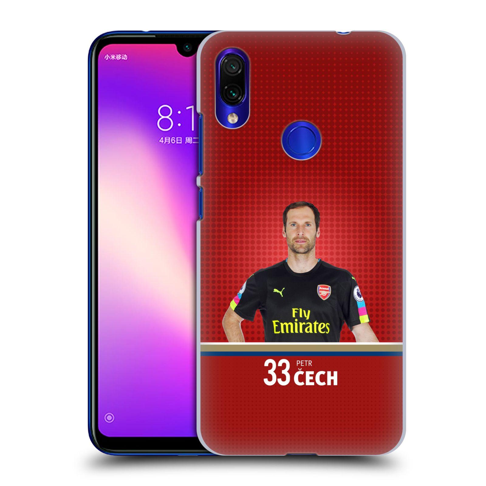 Plastové pouzdro na mobil Xiaomi Redmi Note 7 - Head Case - Arsenal FC - Petr Čech