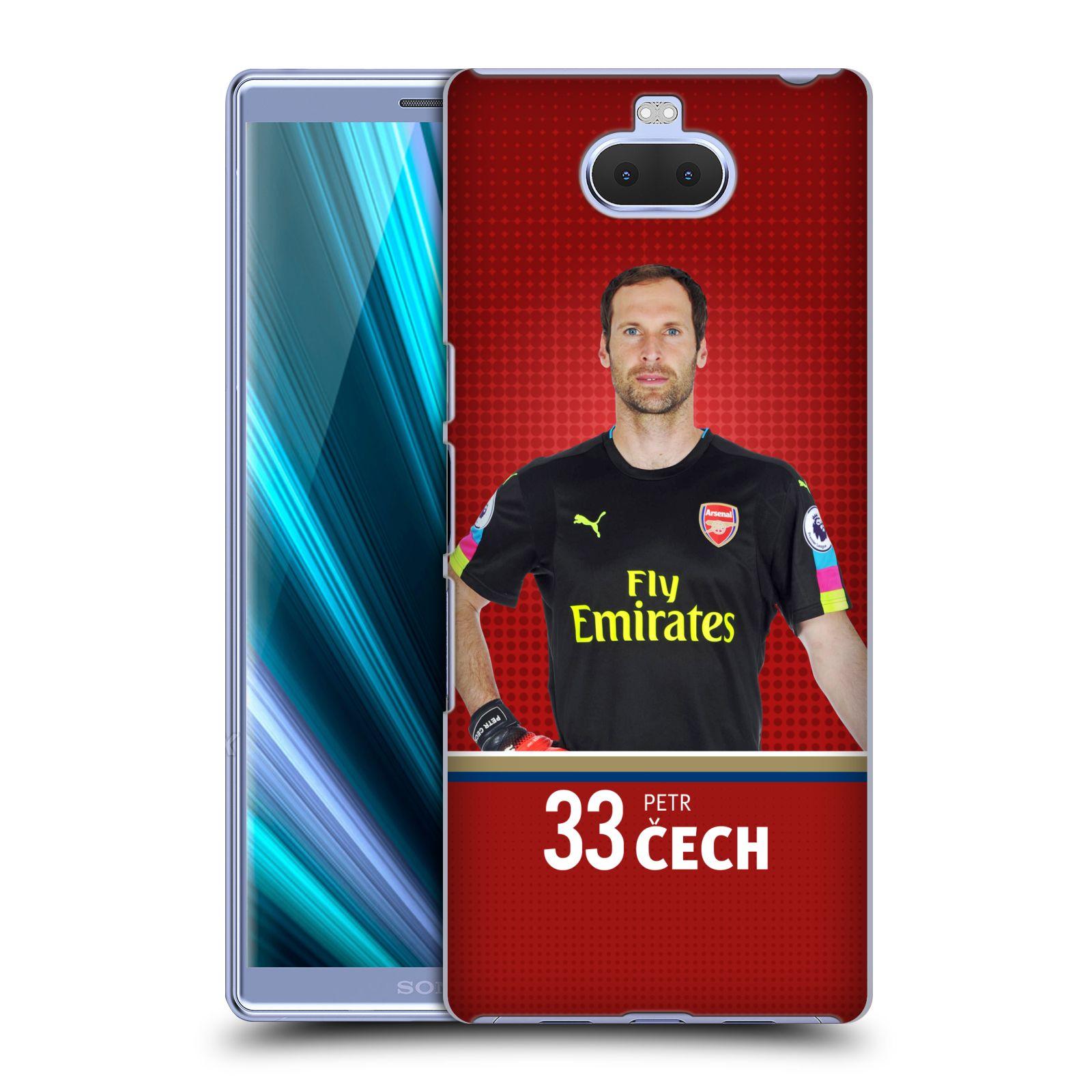 Plastové pouzdro na mobil Sony Xperia 10 - Head Case - Arsenal FC - Petr Čech
