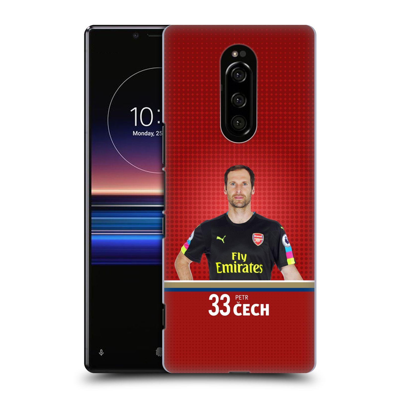 Plastové pouzdro na mobil Sony Xperia 1 - Head Case - Arsenal FC - Petr Čech
