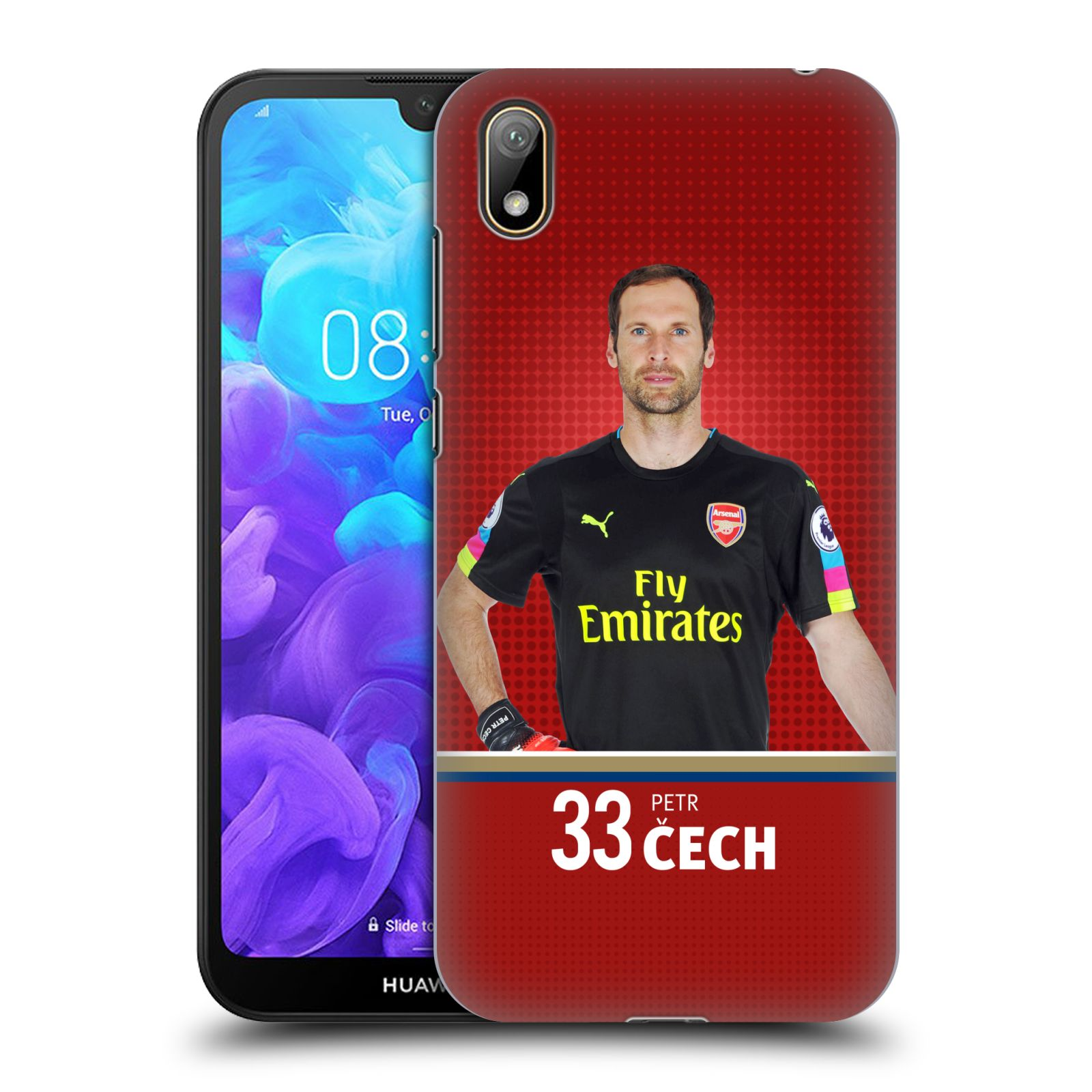 Plastové pouzdro na mobil Honor 8S - Head Case - Arsenal FC - Petr Čech