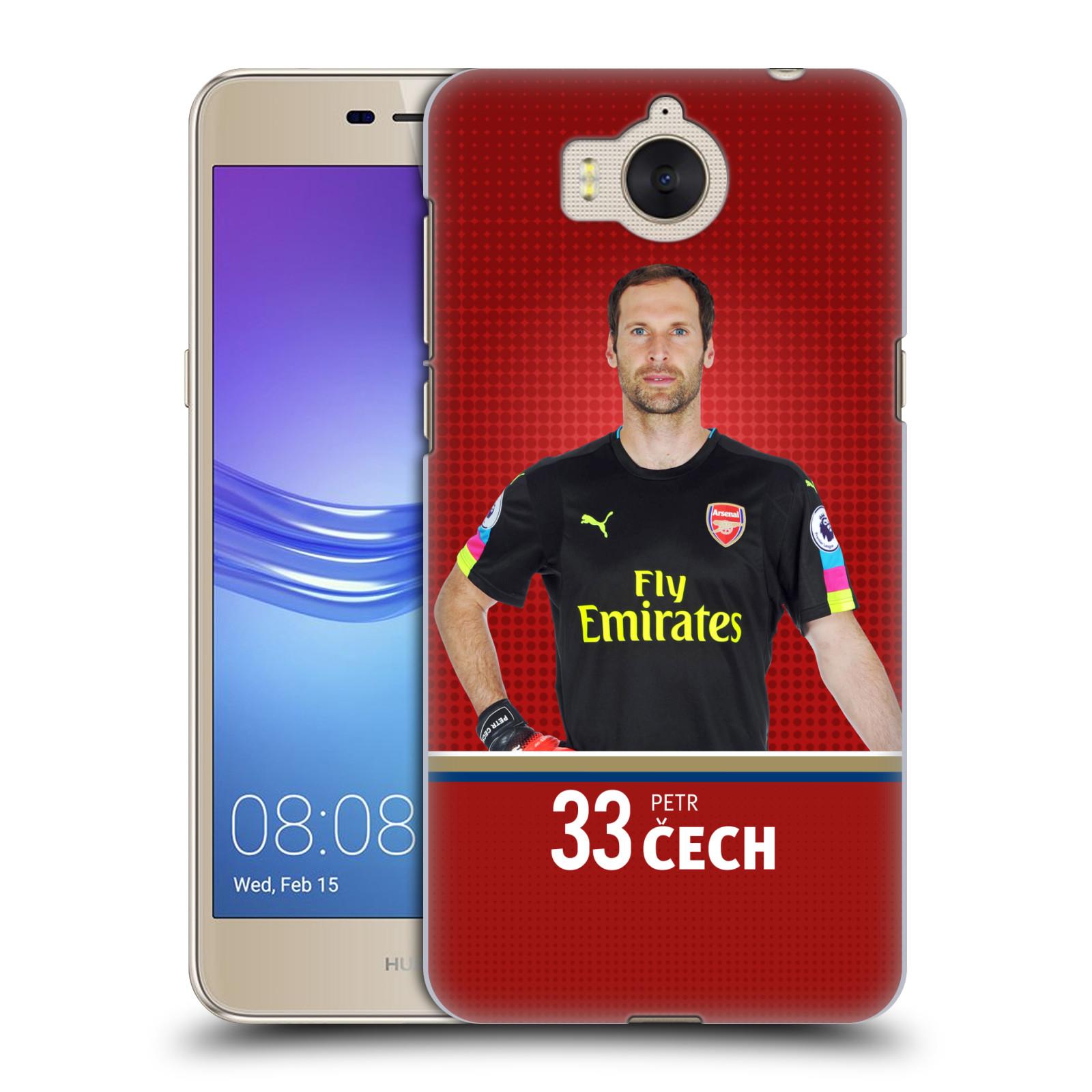Plastové pouzdro na mobil Huawei Y6 2017 - Head Case - Arsenal FC - Petr Čech