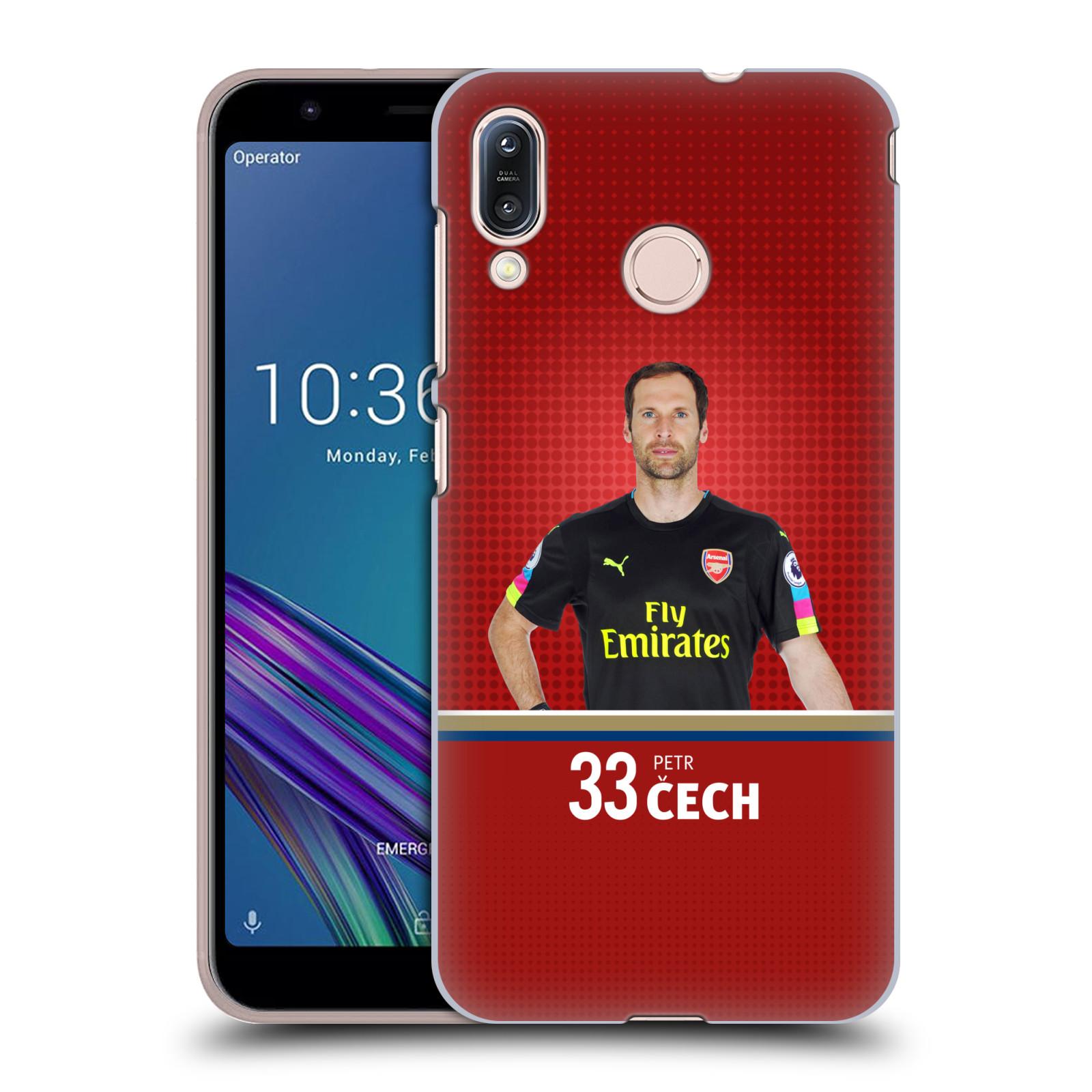 Plastové pouzdro na mobil Asus Zenfone Max M1 ZB555KL - Head Case - Arsenal FC - Petr Čech