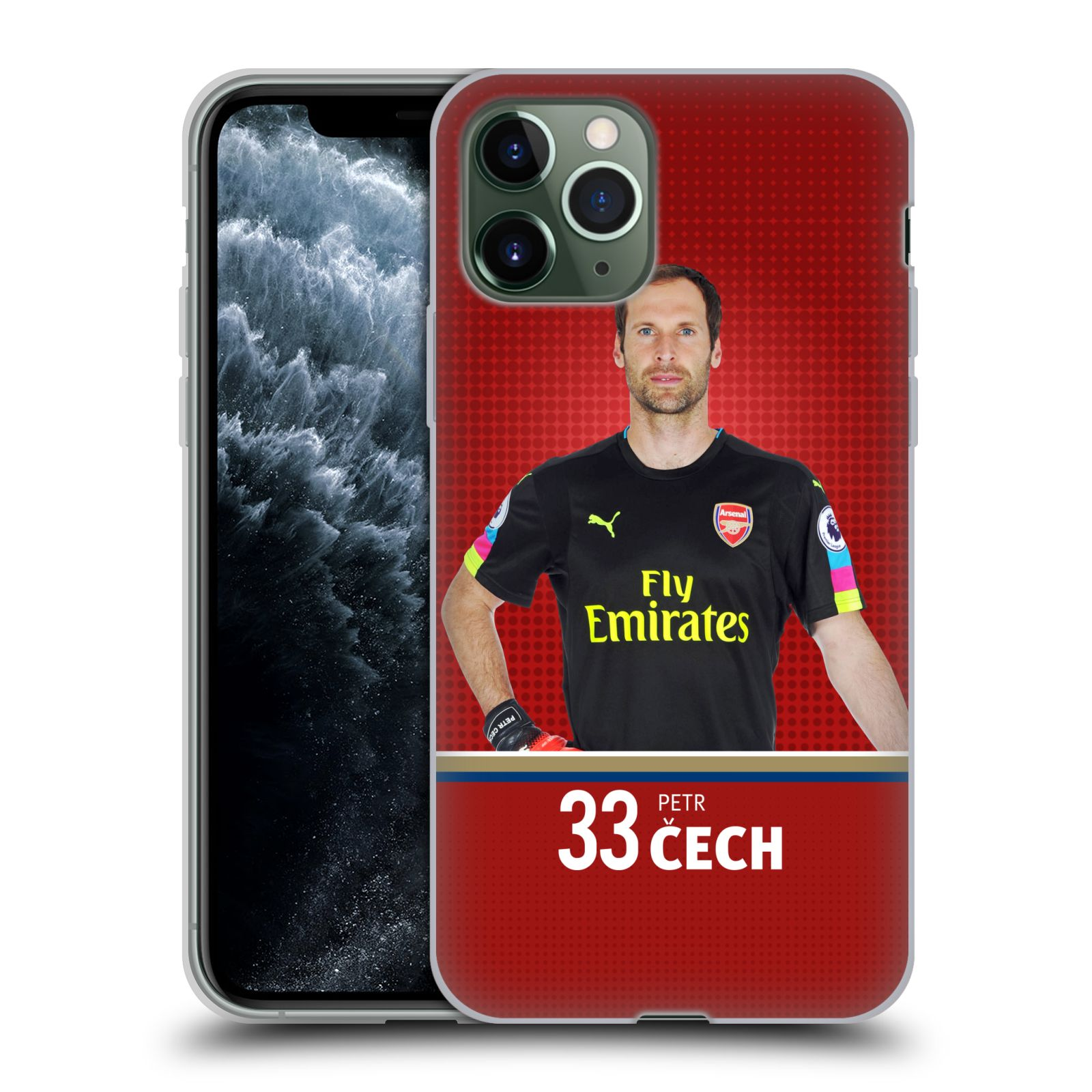 gucci phone case iphone x india , Silikonové pouzdro na mobil Apple iPhone 11 Pro - Head Case - Arsenal FC - Petr Čech