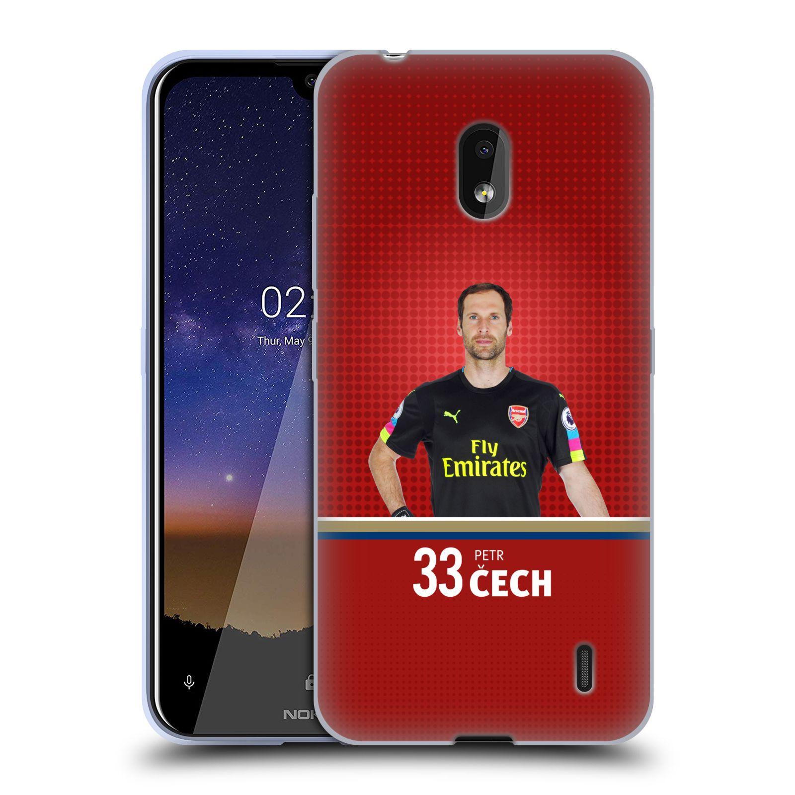 Silikonové pouzdro na mobil Nokia 2.2 - Head Case - Arsenal FC - Petr Čech