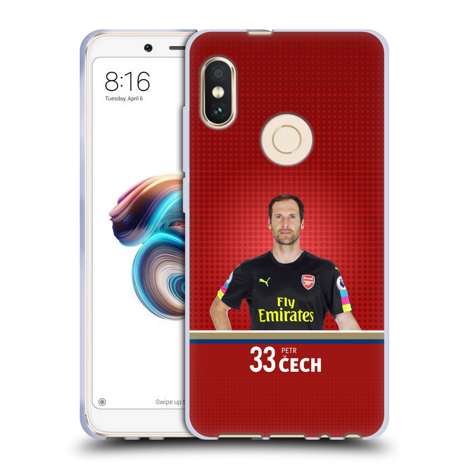 Silikonové pouzdro na mobil Xiaomi Redmi Note 5 - Head Case - Arsenal FC - Petr Čech