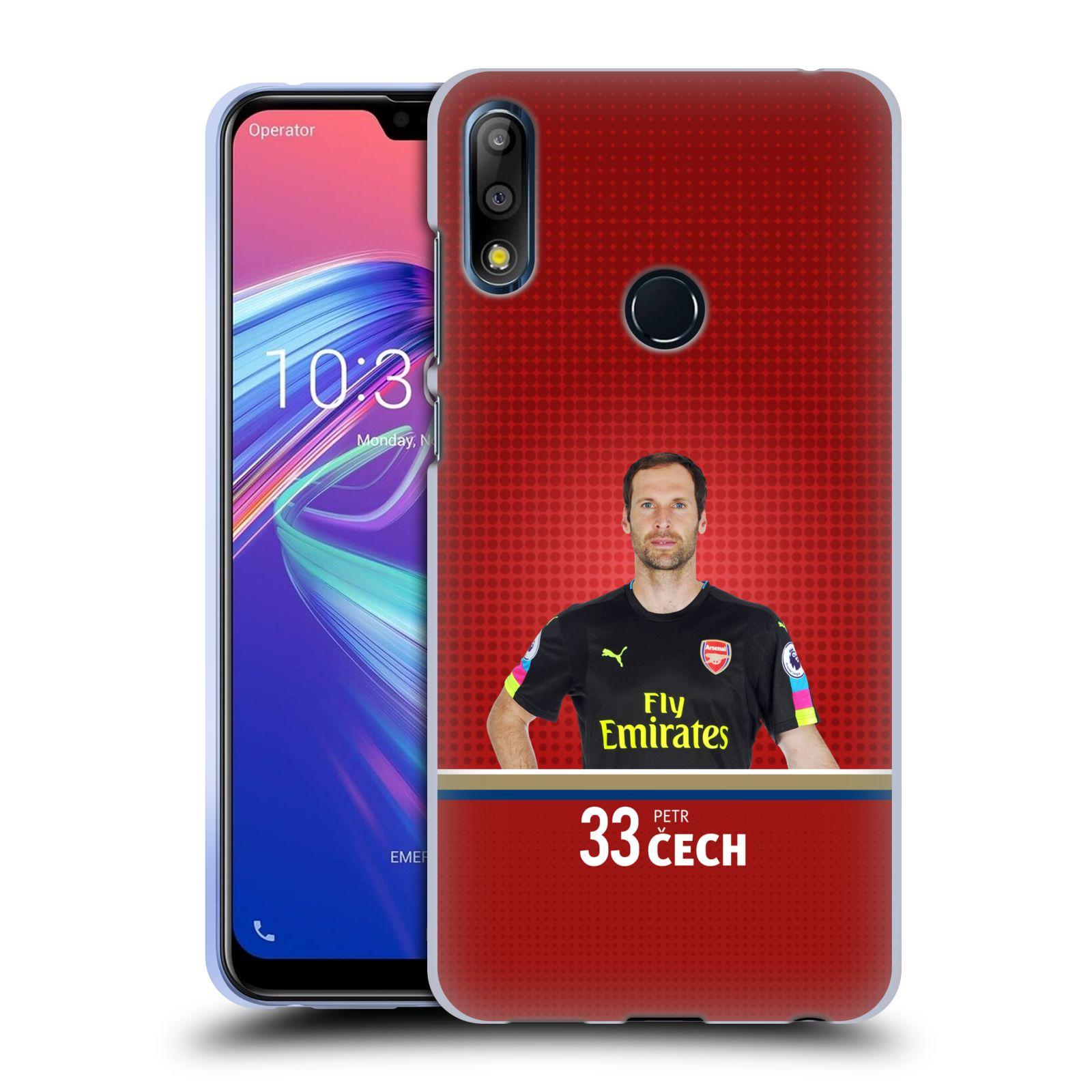 Silikonové pouzdro na mobil Asus Zenfone Max Pro M2 ZB631KL - Head Case - Arsenal FC - Petr Čech