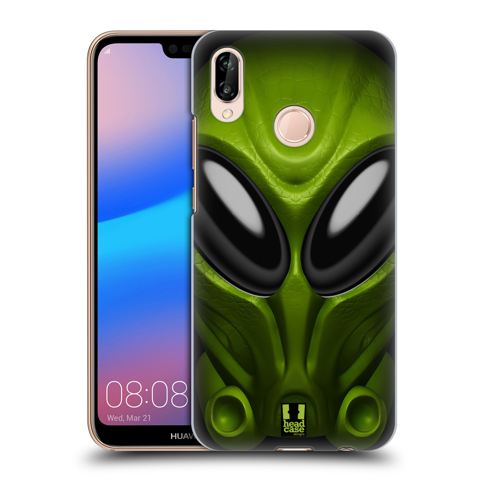 Plastové pouzdro na mobil Huawei P20 Lite - Head Case - Ufoun Mastermind