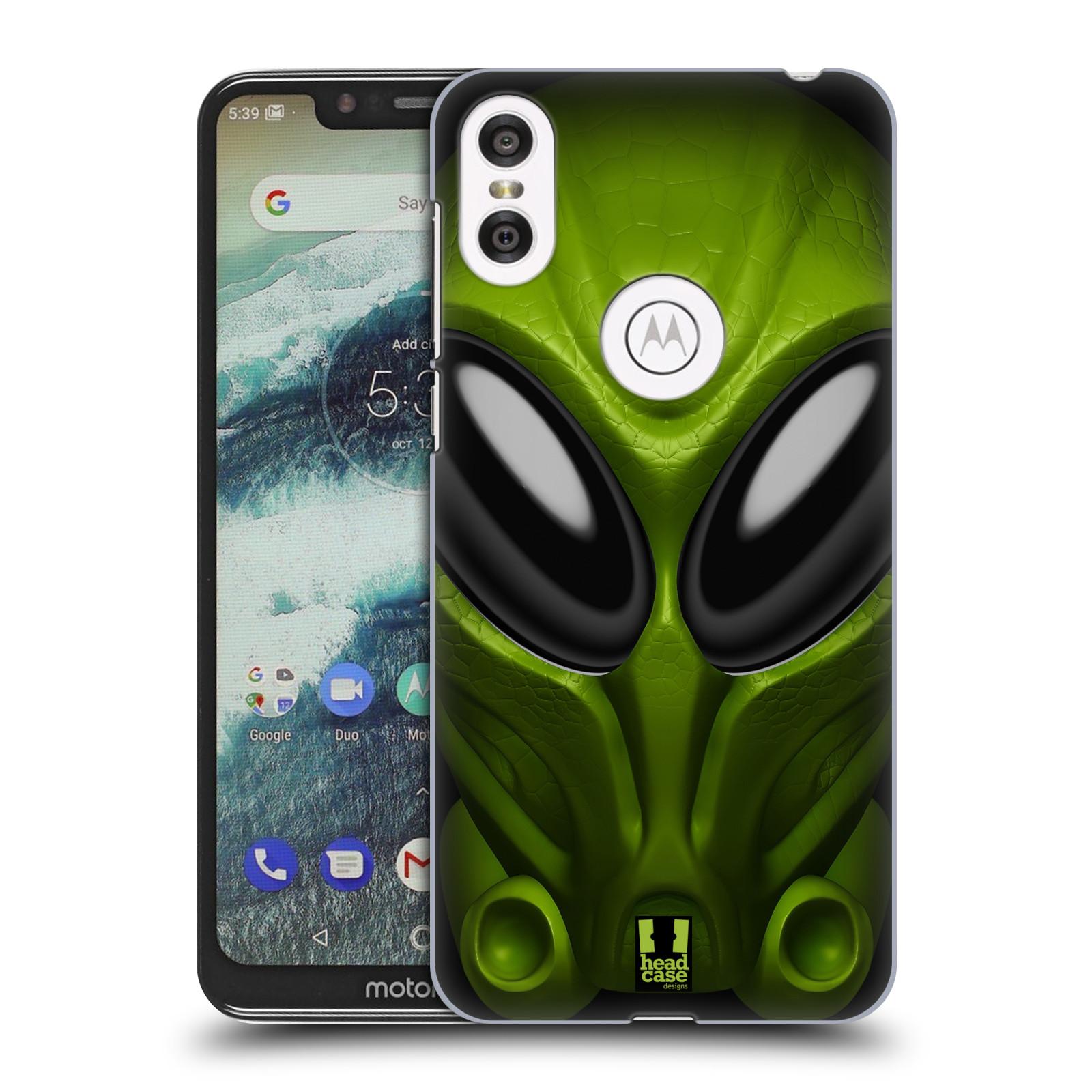 Plastové pouzdro na mobil Motorola One - Head Case - Ufoun Mastermind