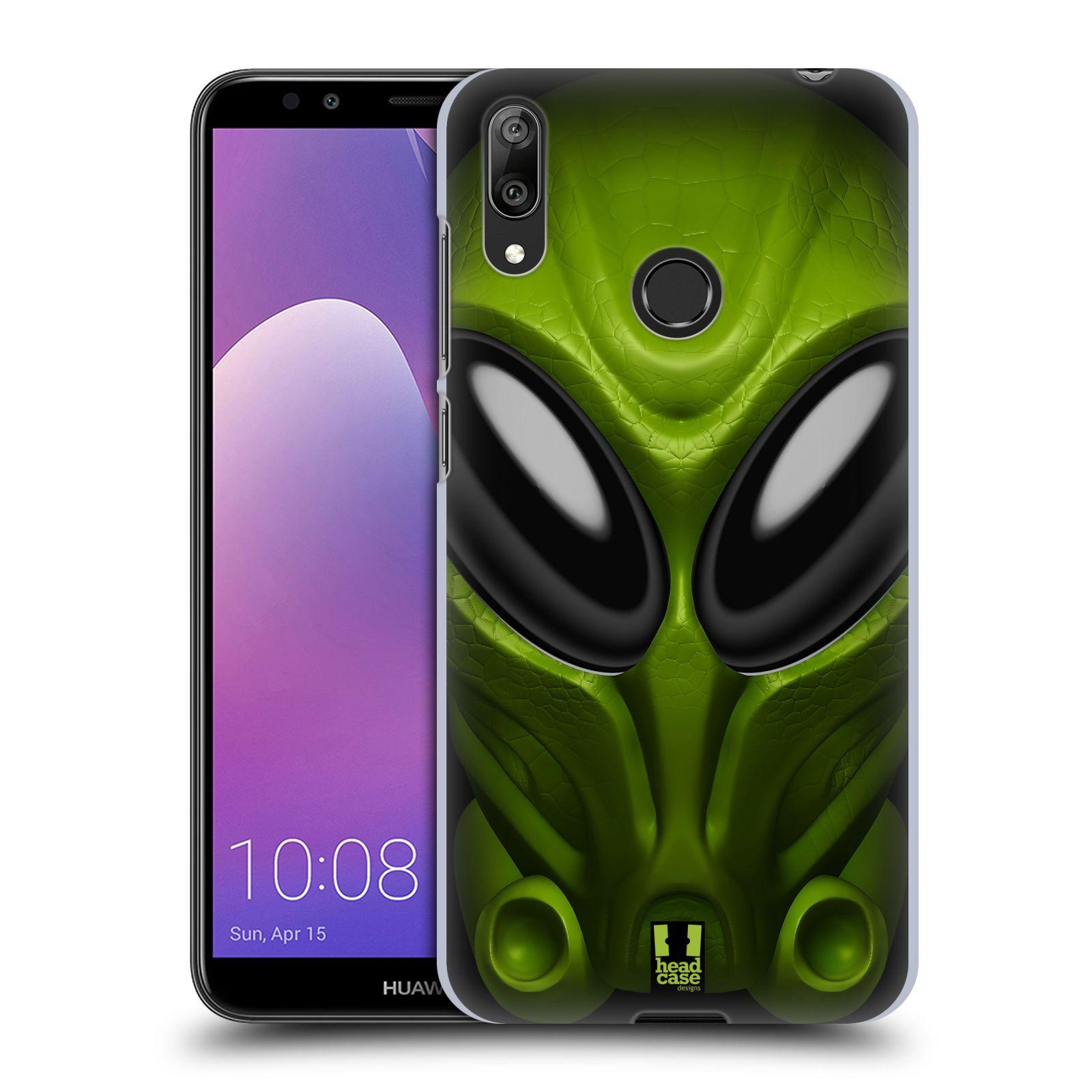 Plastové pouzdro na mobil Huawei Y7 (2019) - Head Case - Ufoun Mastermind