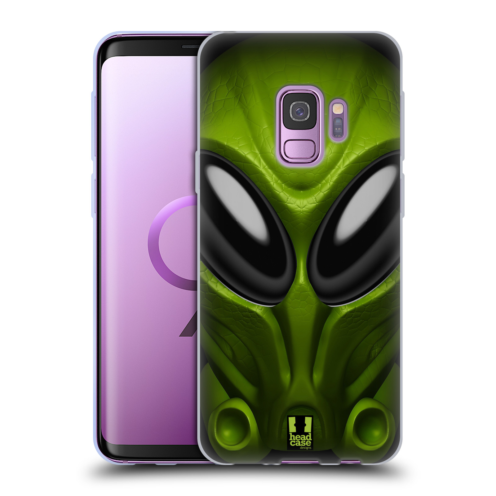 Silikonové pouzdro na mobil Samsung Galaxy S9 - Head Case - Ufoun Mastermind