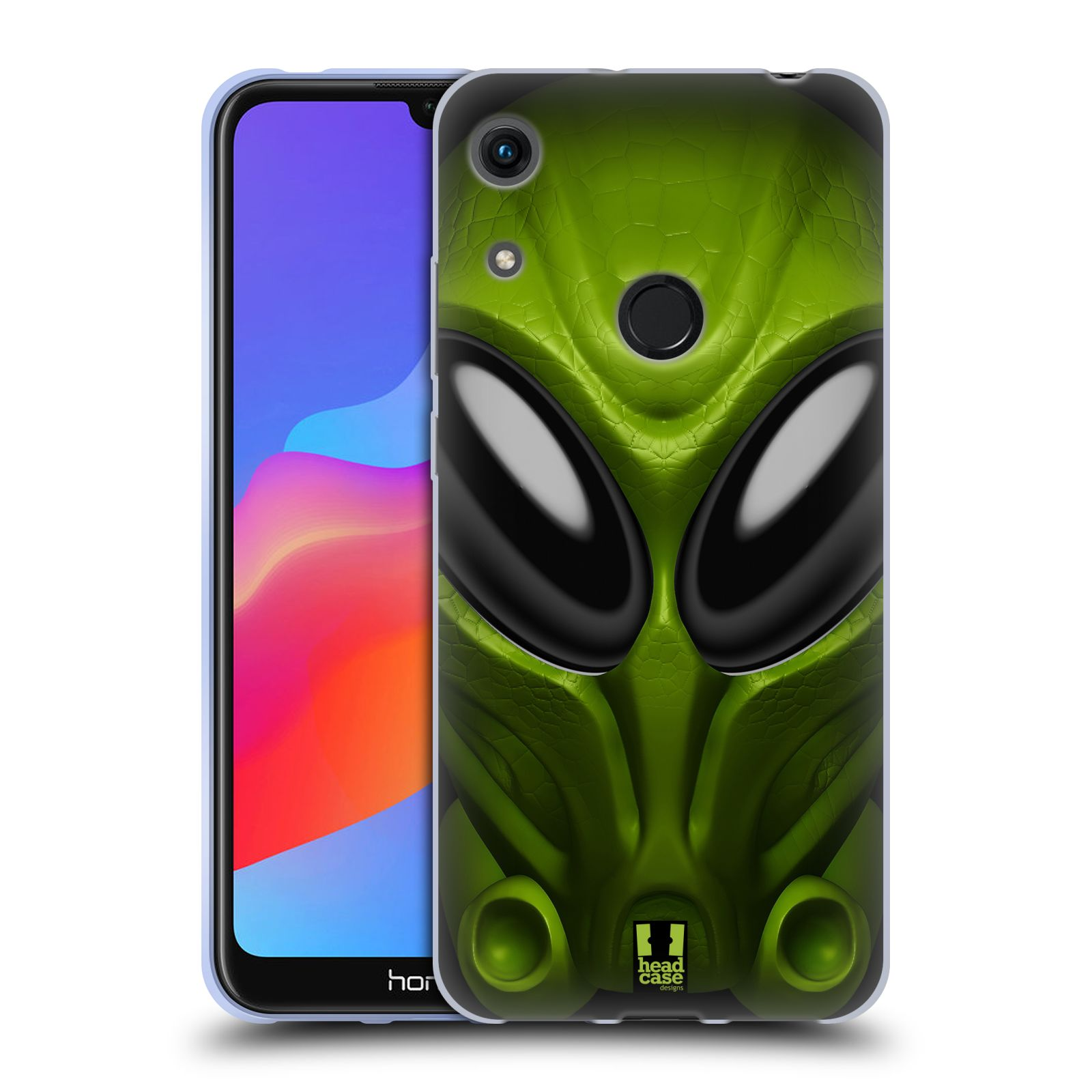 Silikonové pouzdro na mobil Honor 8A - Head Case - Ufoun Mastermind