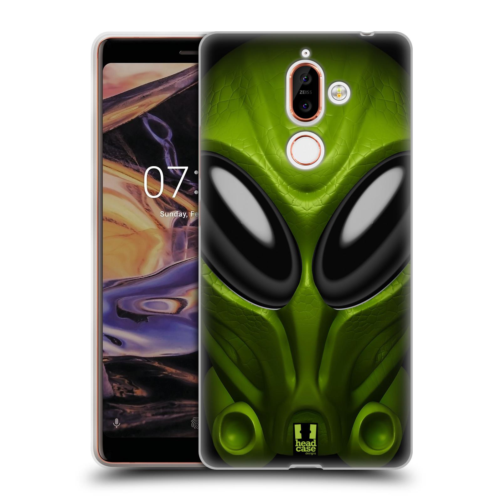 Silikonové pouzdro na mobil Nokia 7 Plus - Head Case - Ufoun Mastermind