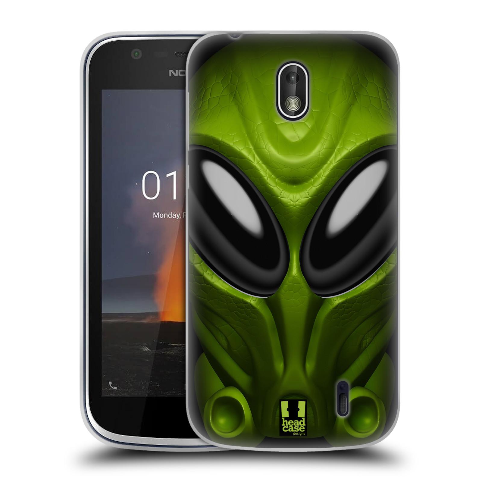 Silikonové pouzdro na mobil Nokia 1 - Head Case - Ufoun Mastermind