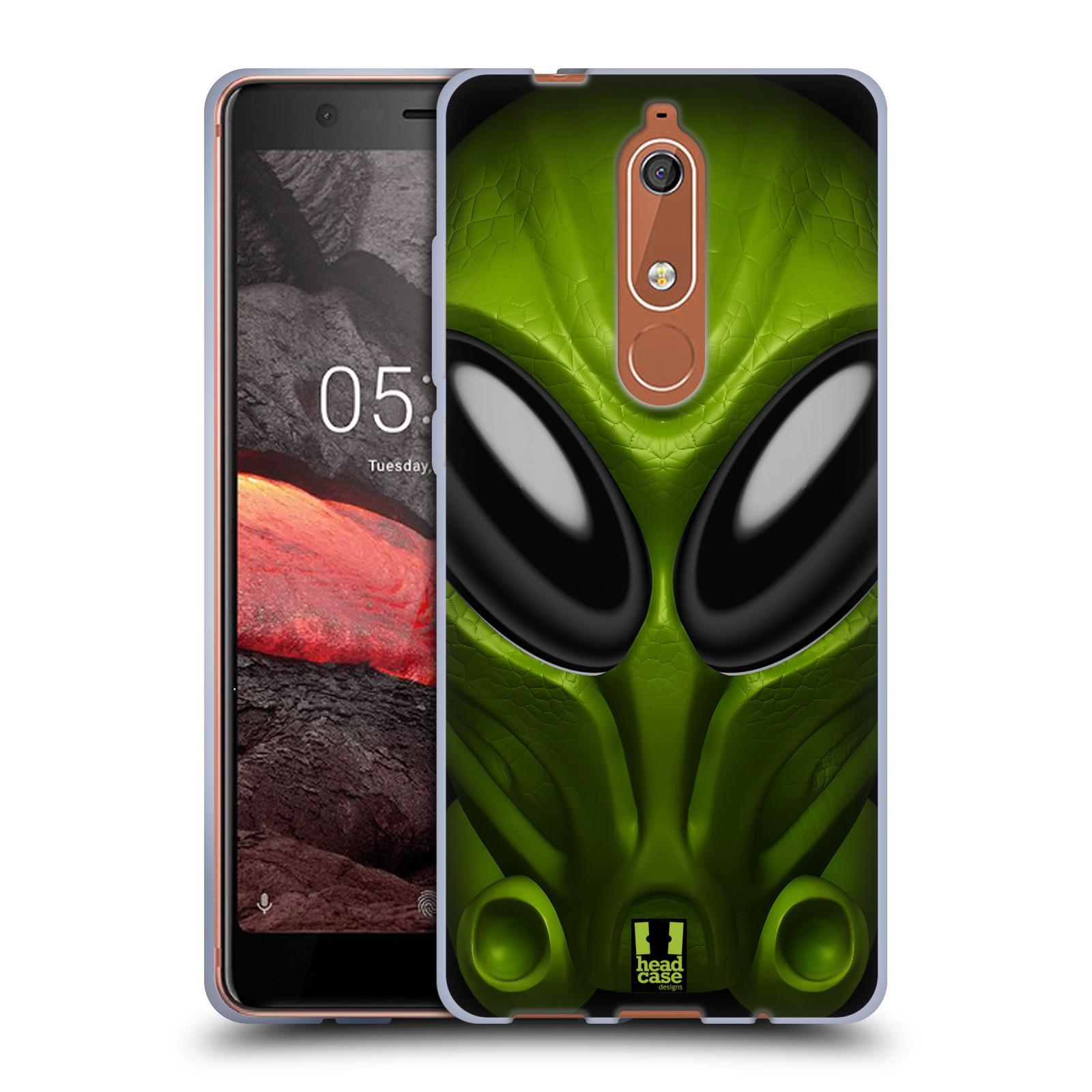 Silikonové pouzdro na mobil Nokia 5.1 - Head Case - Ufoun Mastermind