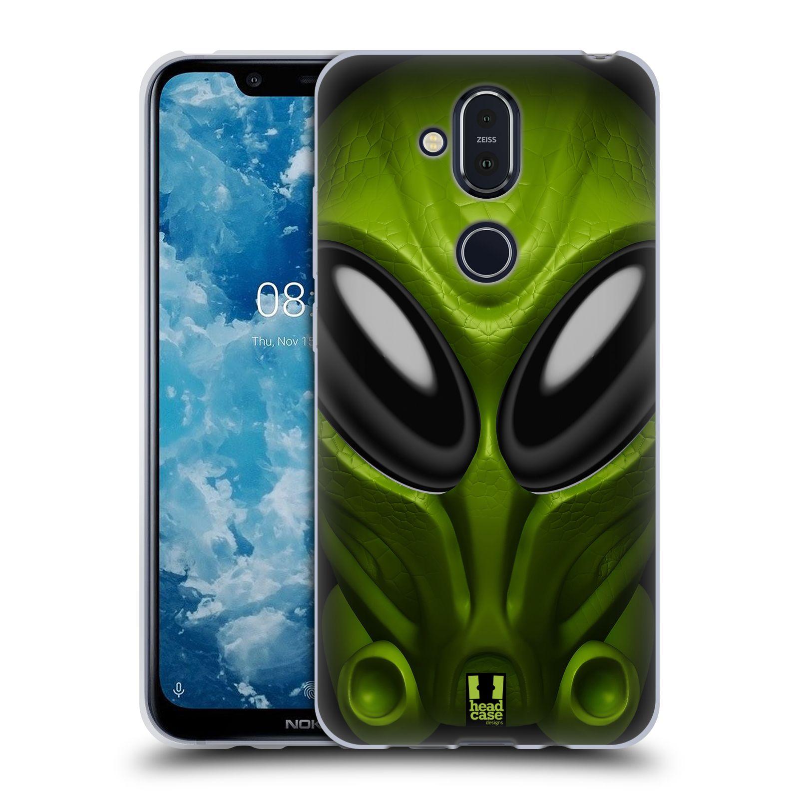Silikonové pouzdro na mobil Nokia 8.1 - Head Case - Ufoun Mastermind
