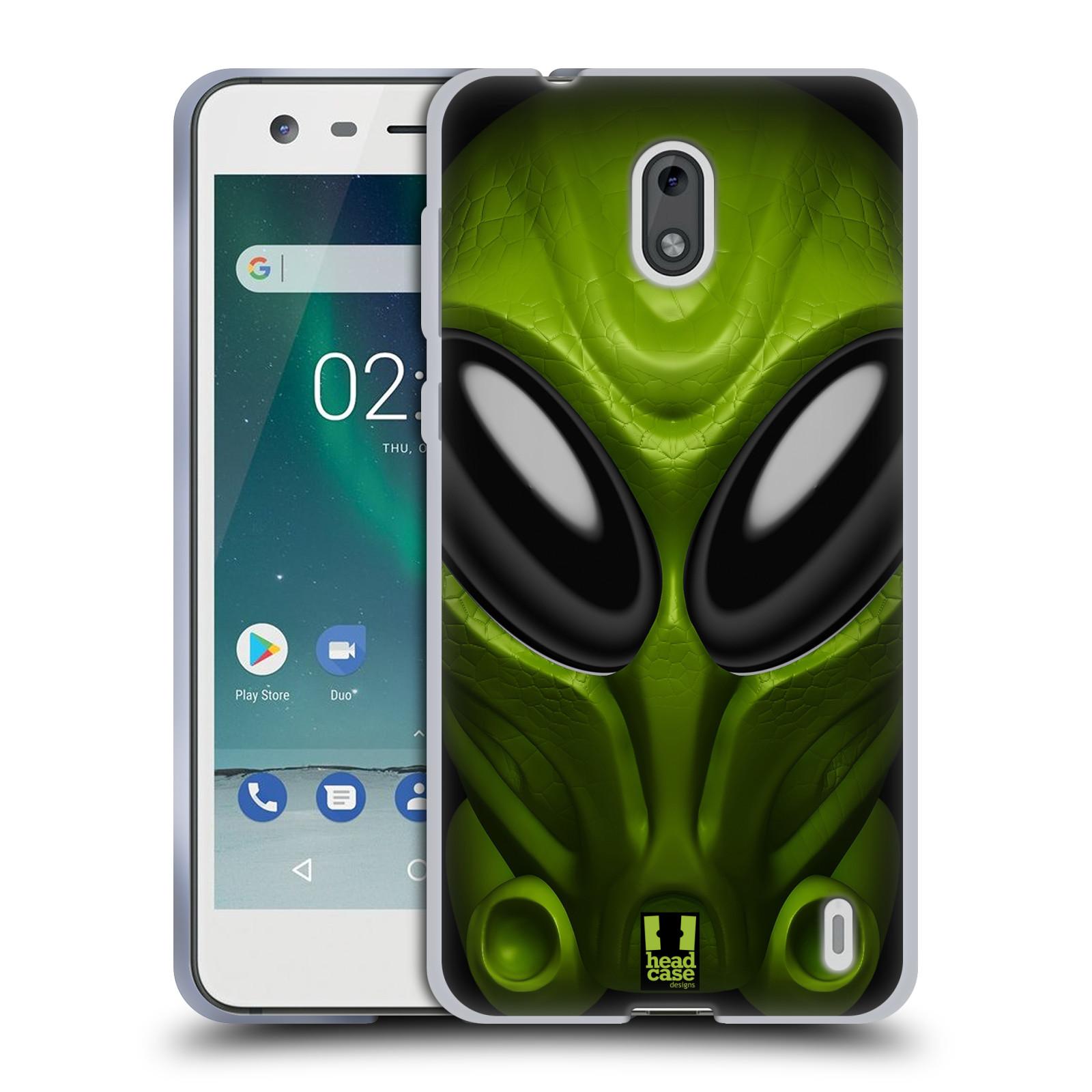 Silikonové pouzdro na mobil Nokia 2 - Head Case - Ufoun Mastermind