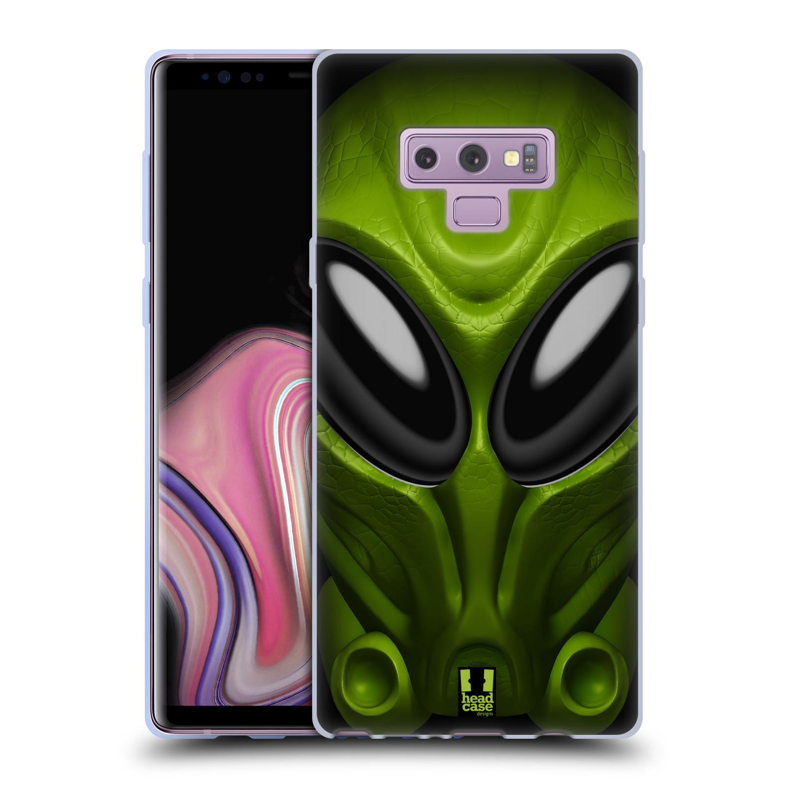 Silikonové pouzdro na mobil Samsung Galaxy Note 9 - Head Case - Ufoun Mastermind