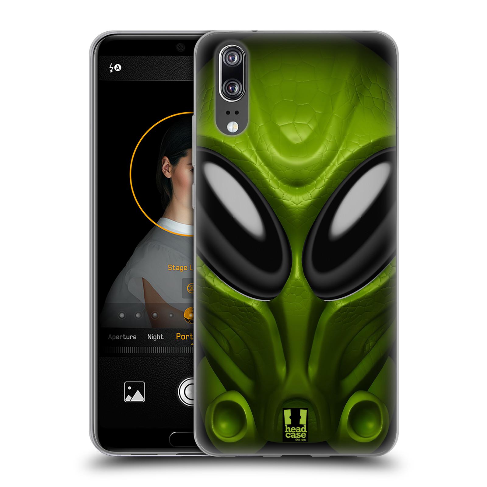 Silikonové pouzdro na mobil Huawei P20 - Head Case - Ufoun Mastermind