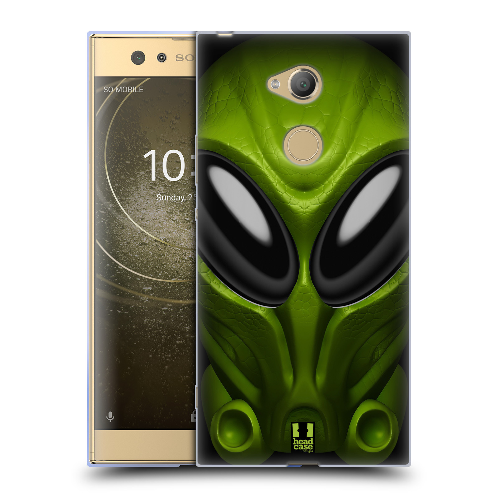 Silikonové pouzdro na mobil Sony Xperia XA2 Ultra - Head Case - Ufoun Mastermind