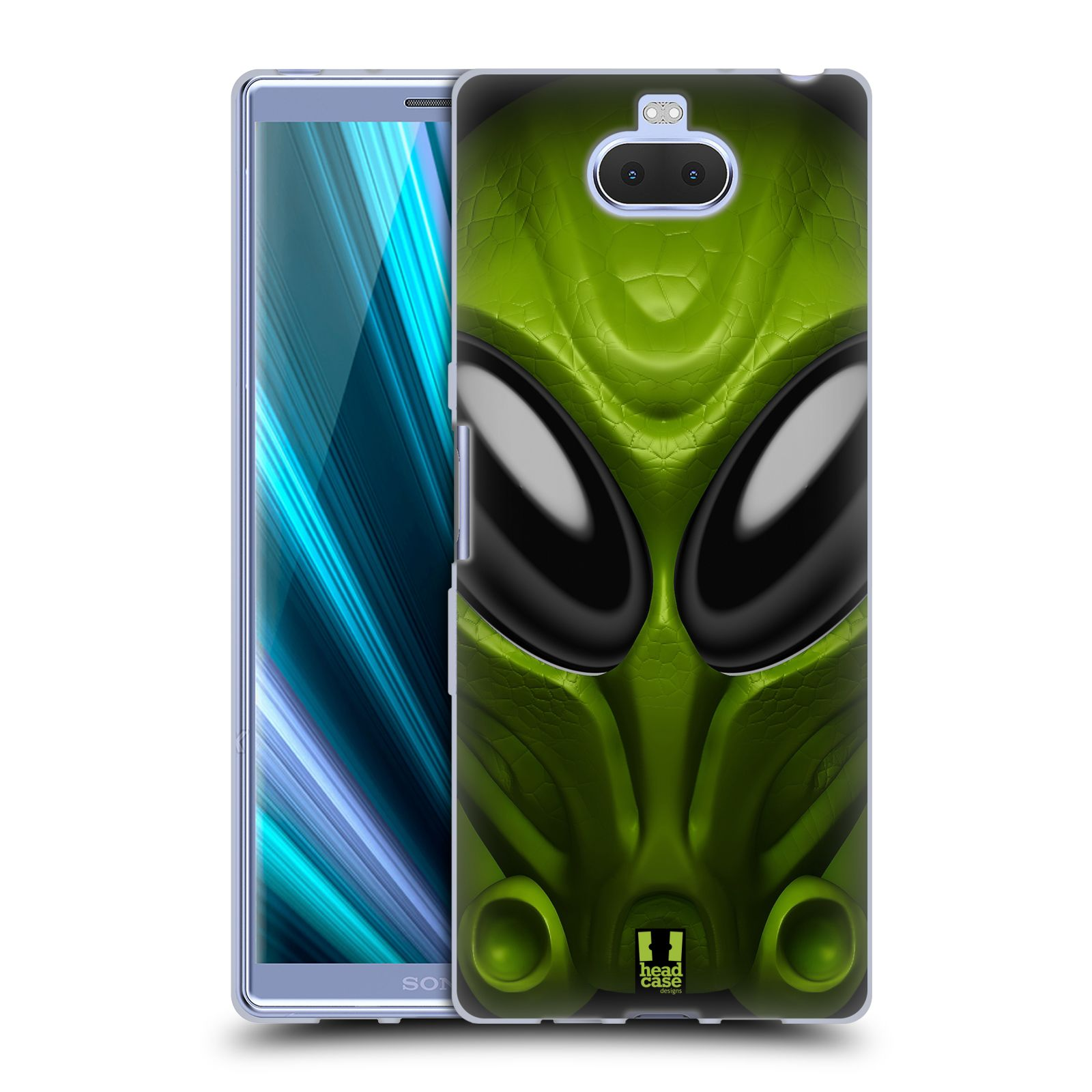 Silikonové pouzdro na mobil Sony Xperia 10 Plus - Head Case - Ufoun Mastermind