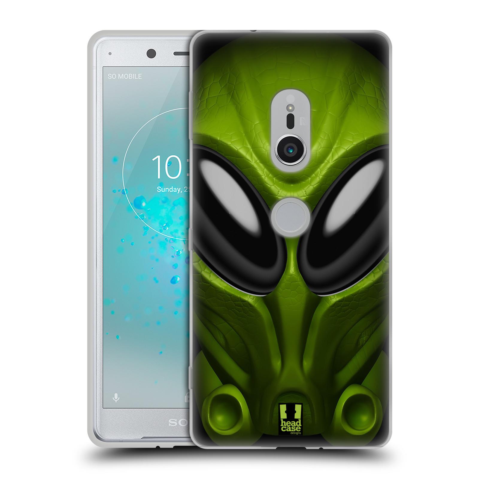 Silikonové pouzdro na mobil Sony Xperia XZ2 - Head Case - Ufoun Mastermind