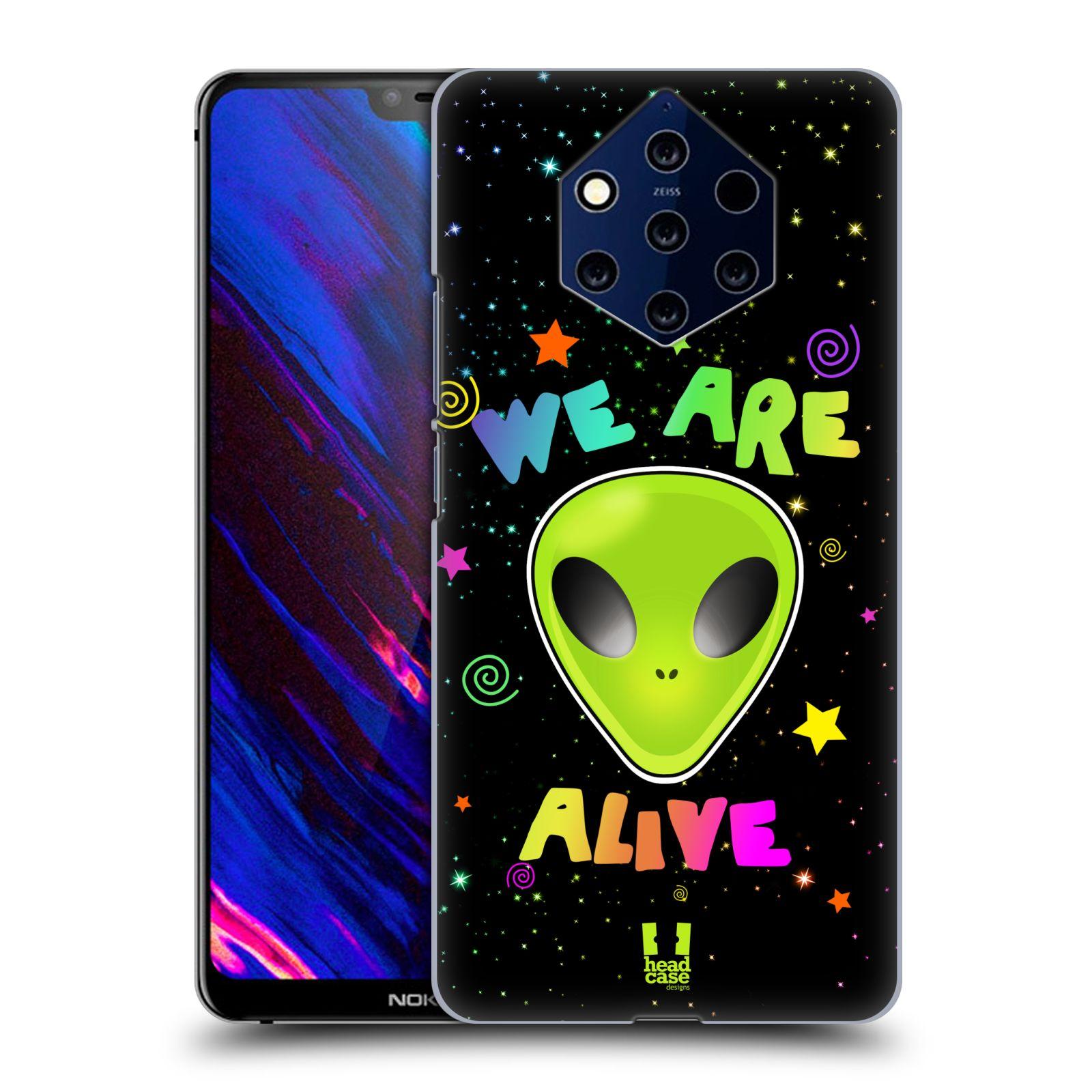 Plastové pouzdro na mobil Nokia 9 PureView - Head Case - ALIENS ALIVE