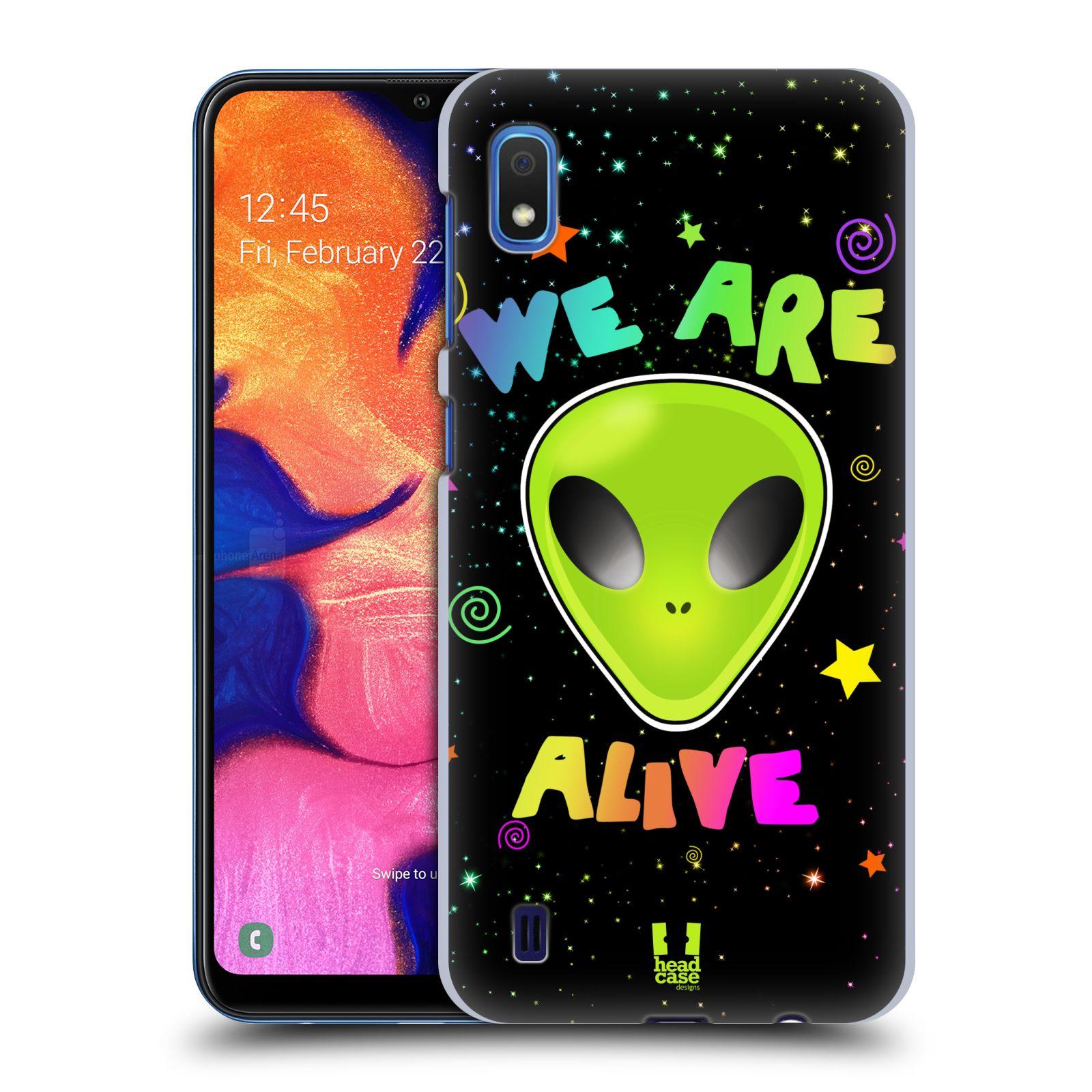 Plastové pouzdro na mobil Samsung Galaxy A10 - Head Case - ALIENS ALIVE