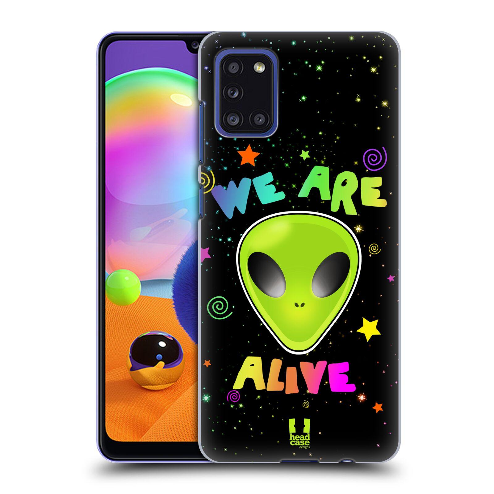 Plastové pouzdro na mobil Samsung Galaxy A31 - Head Case - ALIENS ALIVE