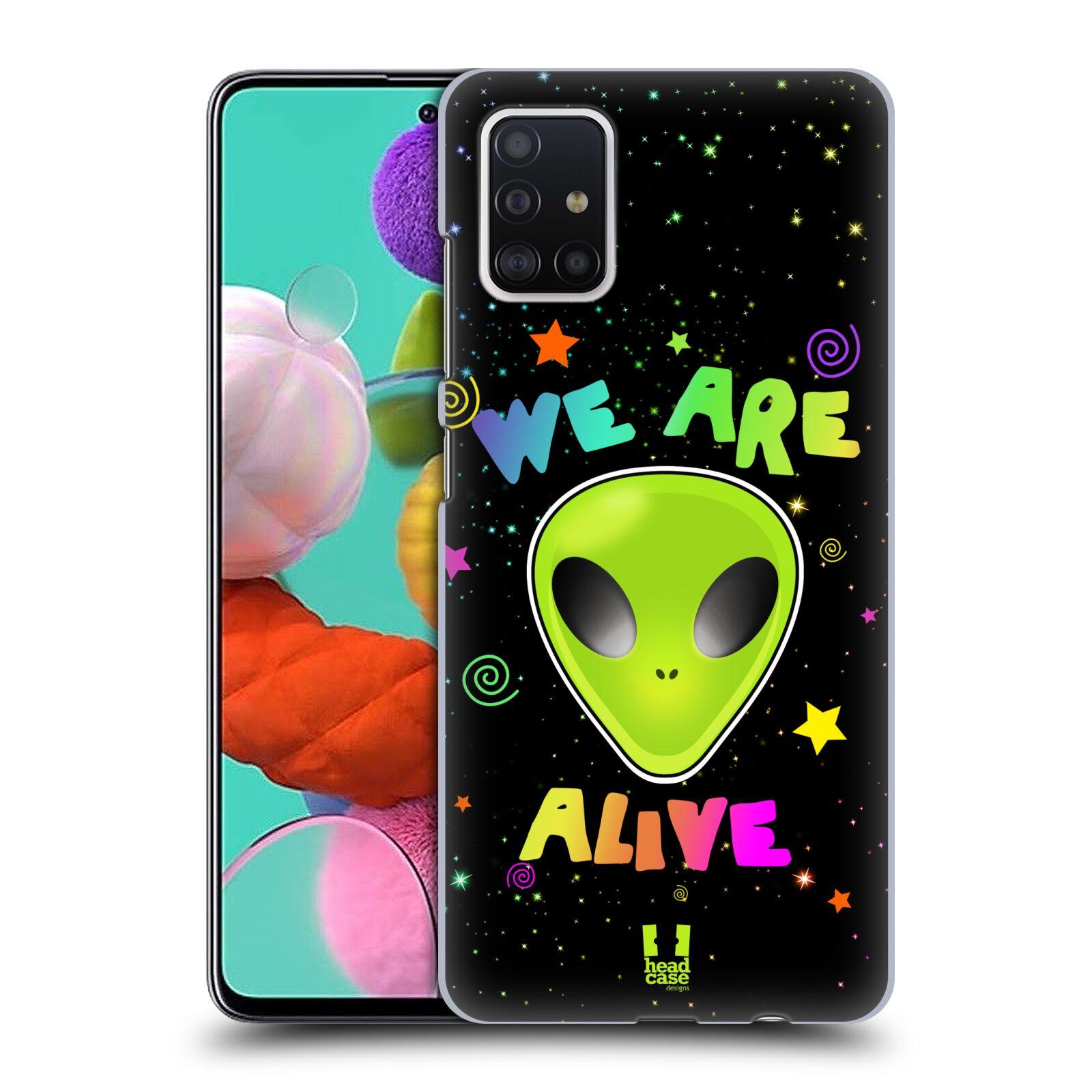 Plastové pouzdro na mobil Samsung Galaxy A51 - Head Case - ALIENS ALIVE