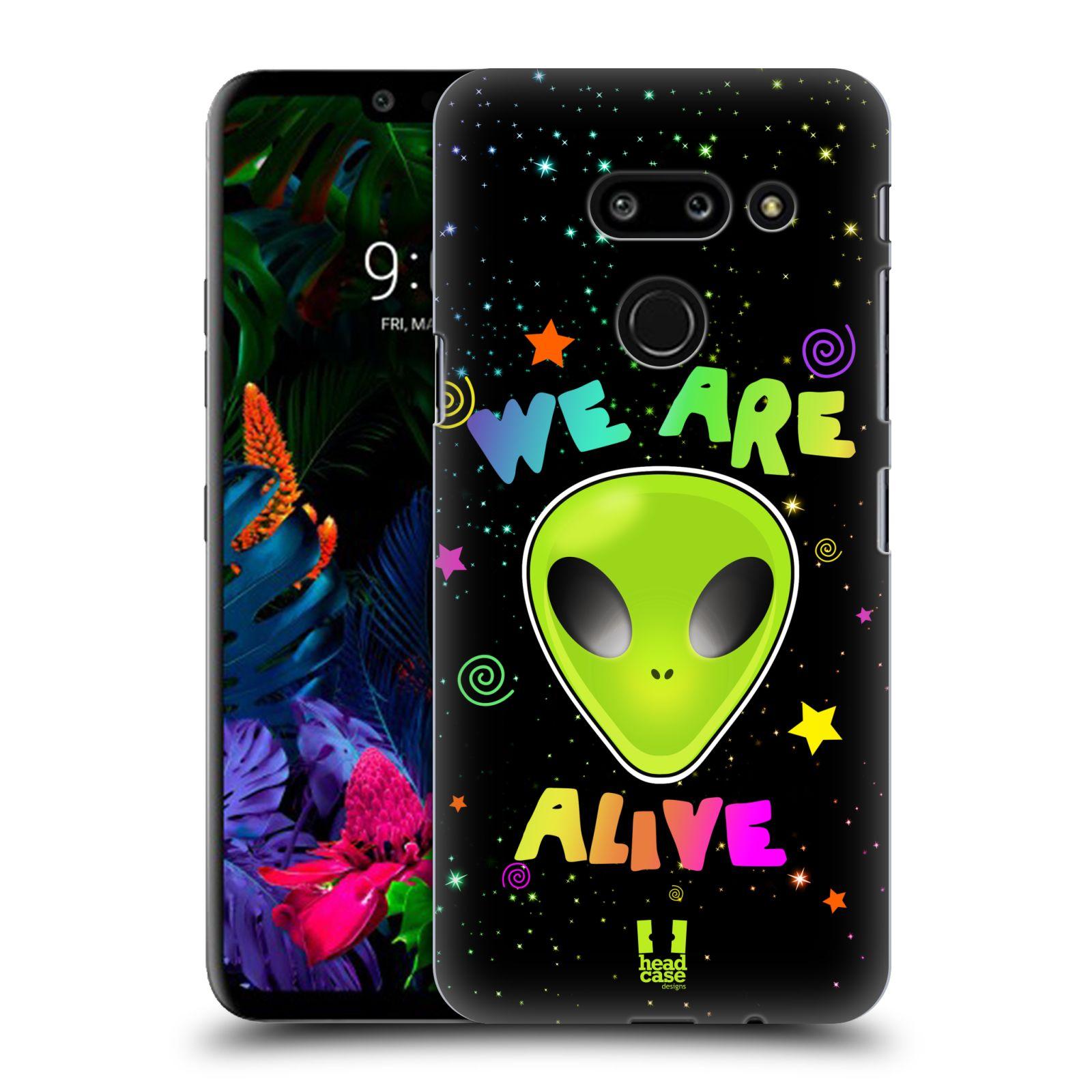 Plastové pouzdro na mobil LG G8 ThinQ - Head Case - ALIENS ALIVE