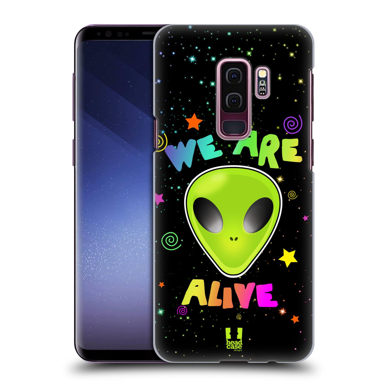 Plastové pouzdro na mobil Samsung Galaxy S9 Plus - Head Case - ALIENS ALIVE