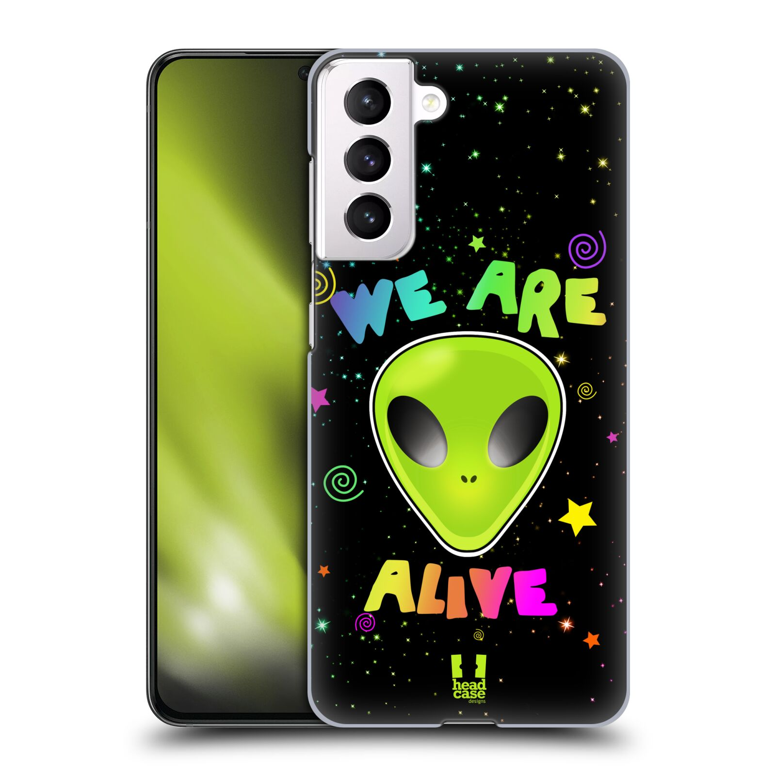 Plastové pouzdro na mobil Samsung Galaxy S21 5G - Head Case - ALIENS ALIVE