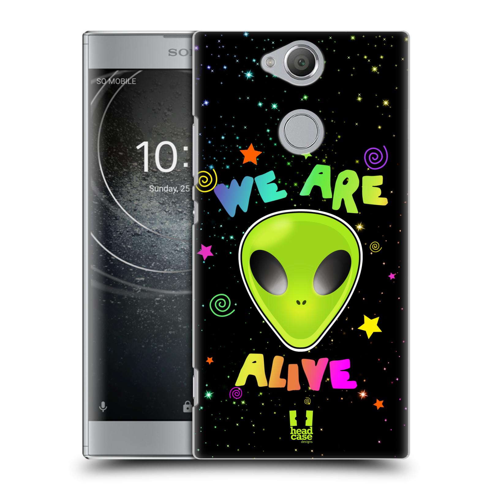 Plastové pouzdro na mobil Sony Xperia XA2 - Head Case - ALIENS ALIVE