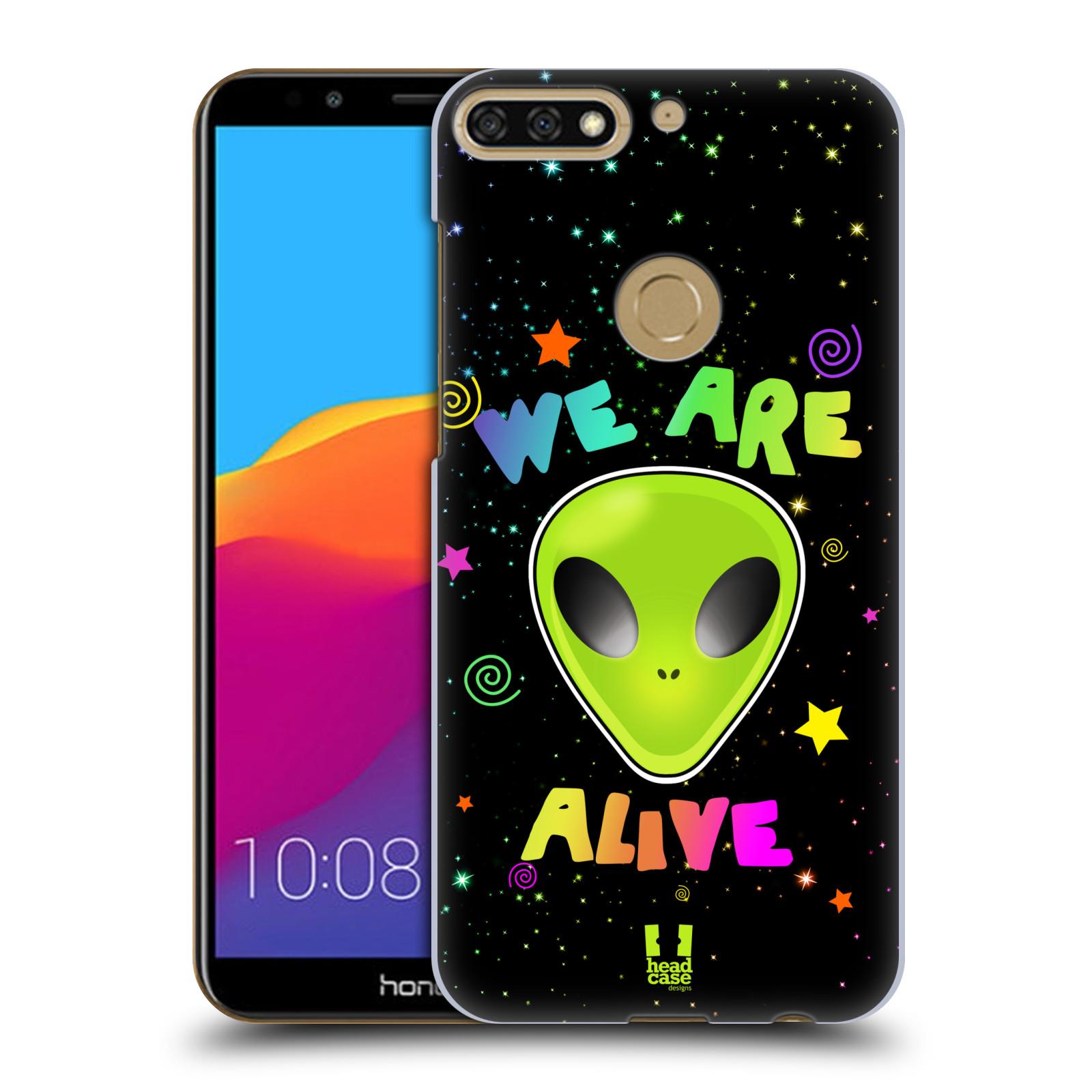 Plastové pouzdro na mobil Huawei Y7 Prime 2018 - Head Case - ALIENS ALIVE