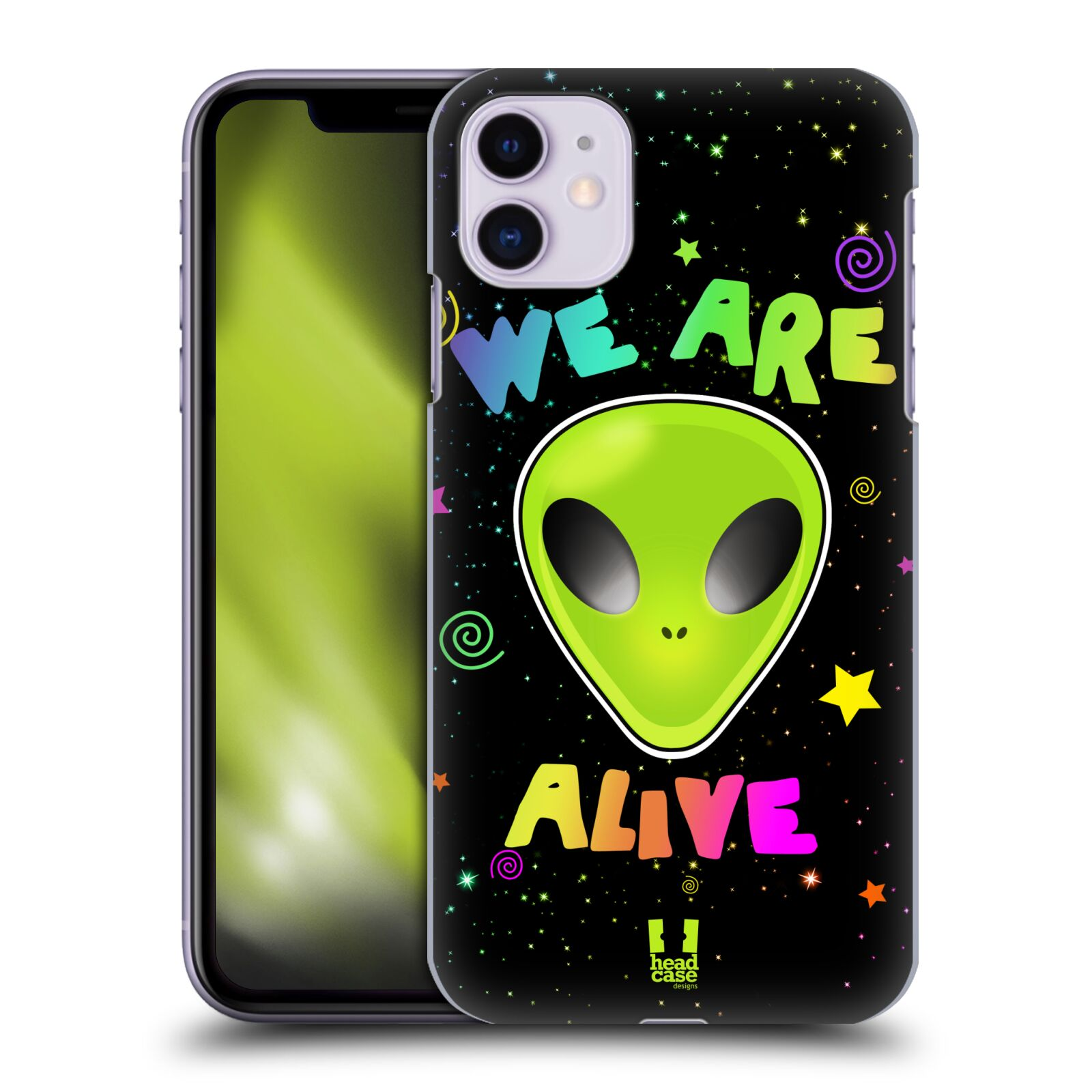 Plastové pouzdro na mobil Apple iPhone 11 - Head Case - ALIENS ALIVE
