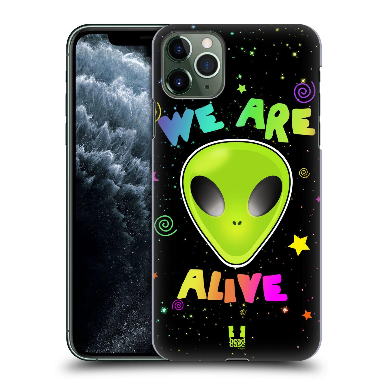 Plastové pouzdro na mobil Apple iPhone 11 Pro Max - Head Case - ALIENS ALIVE