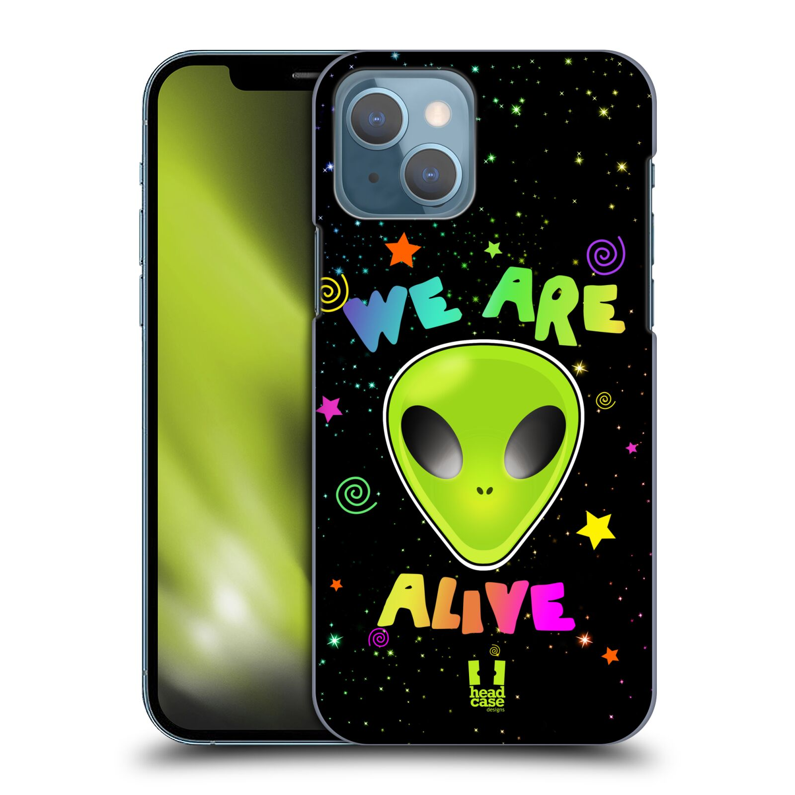 Plastové pouzdro na mobil Apple iPhone 13 - Head Case - ALIENS ALIVE