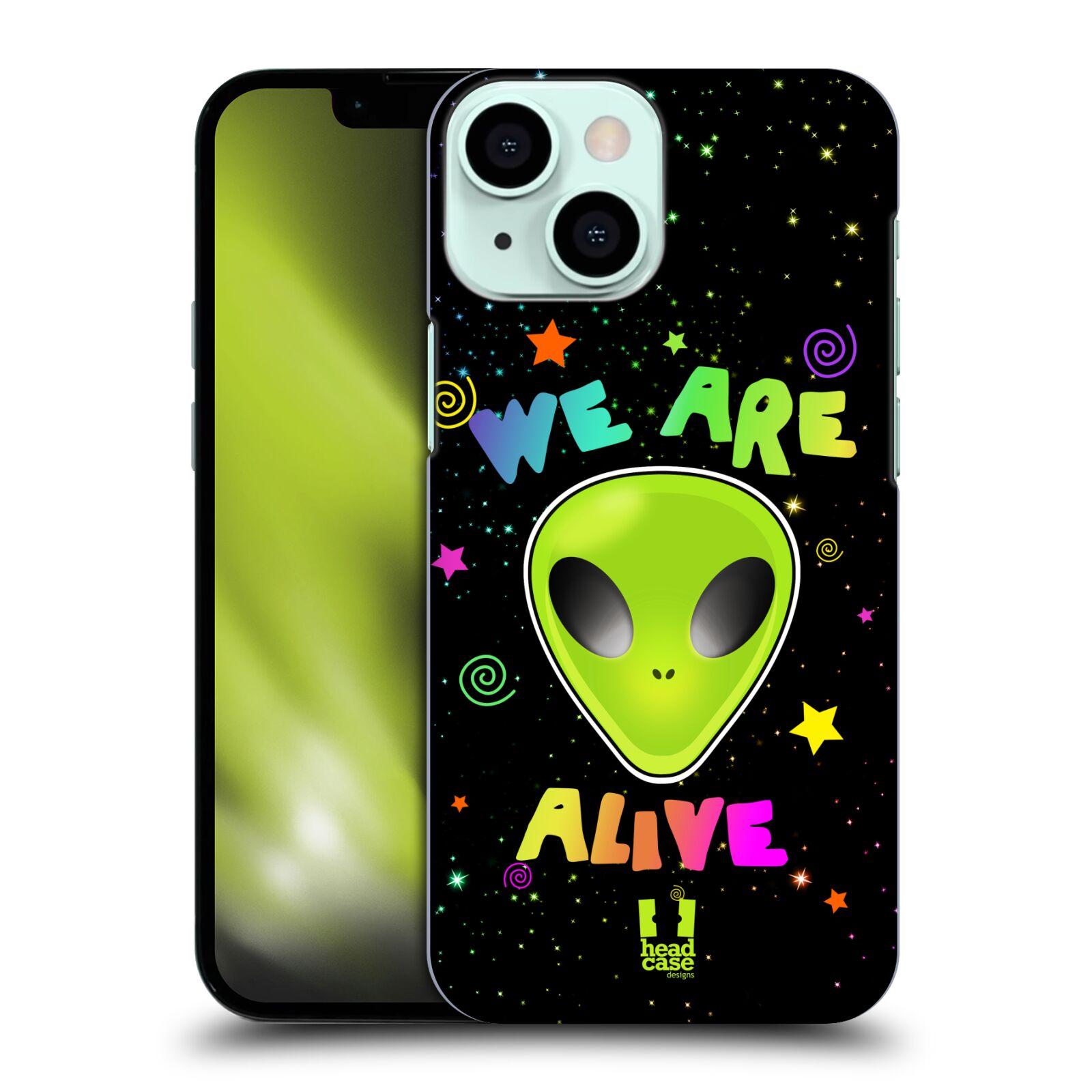 Plastové pouzdro na mobil Apple iPhone 13 Mini - Head Case - ALIENS ALIVE