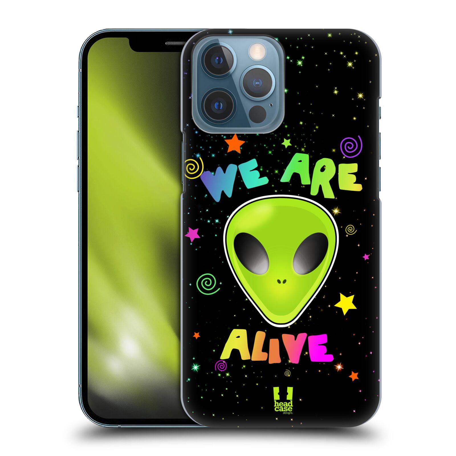 Plastové pouzdro na mobil Apple iPhone 13 Pro Max - Head Case - ALIENS ALIVE