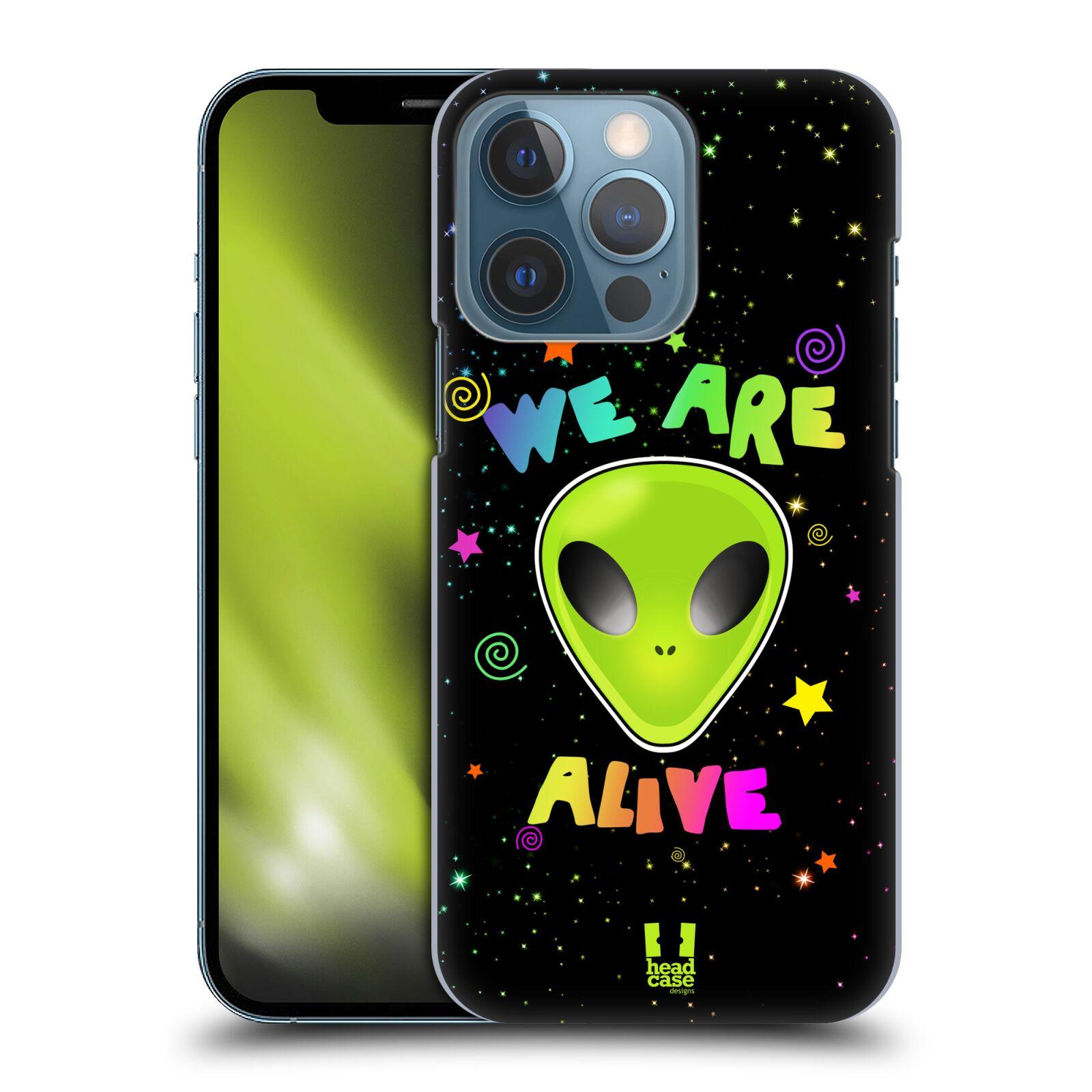Plastové pouzdro na mobil Apple iPhone 13 Pro - Head Case - ALIENS ALIVE