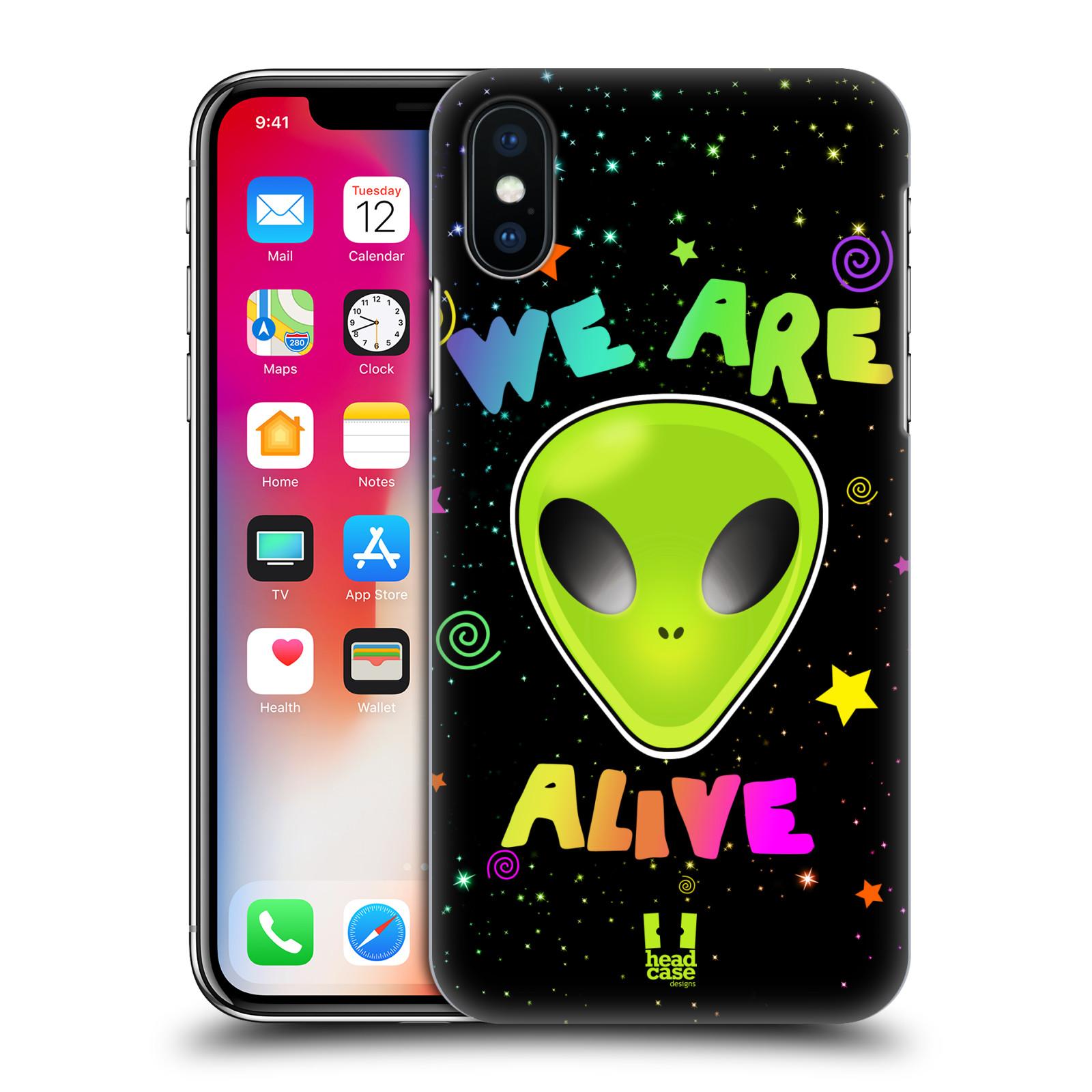 Plastové pouzdro na mobil Apple iPhone X - Head Case - ALIENS ALIVE