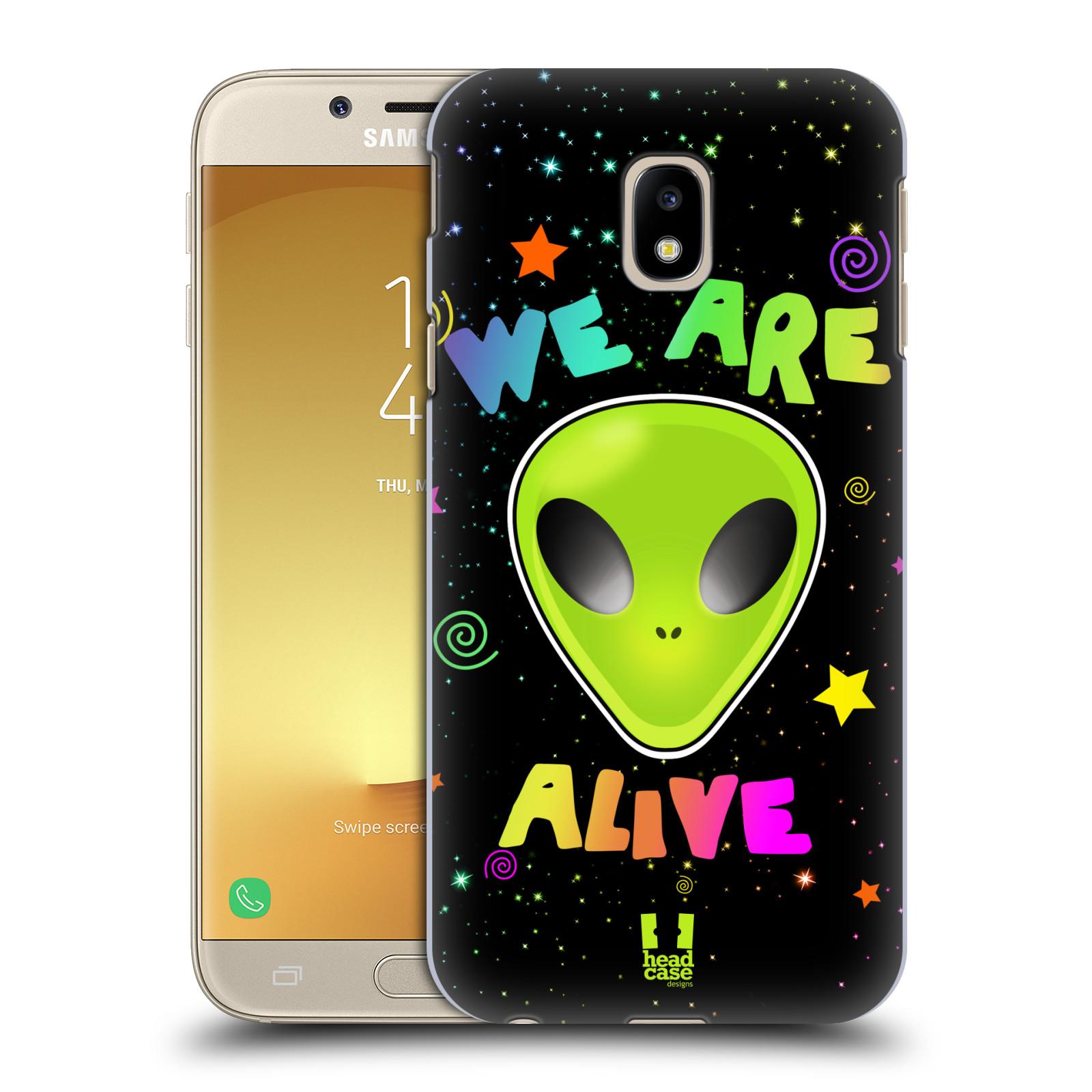 Plastové pouzdro na mobil Samsung Galaxy J3 (2017) - Head Case - ALIENS ALIVE