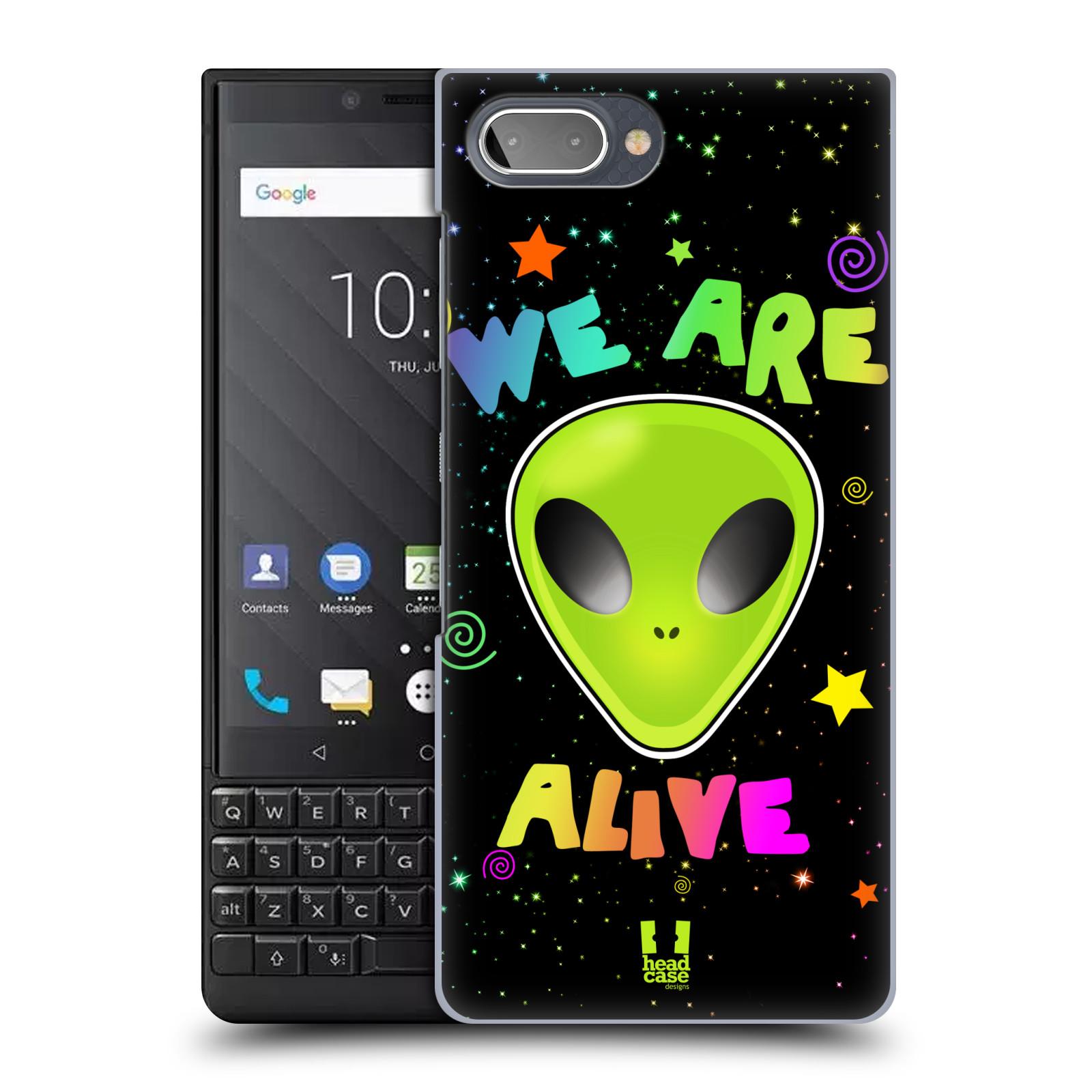 Plastové pouzdro na mobil Blackberry Key 2 - Head Case - ALIENS ALIVE